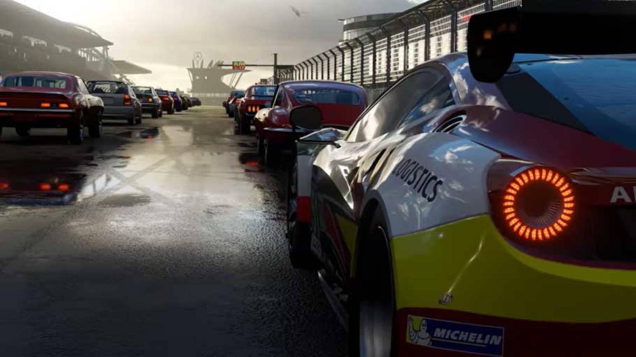 """Von nichts kommt nichts: Damit die 4K-Texturen von """"Forza Motorsport 7"""" so gut aussehen können, ist jede Menge Speicherplatz nötig."""