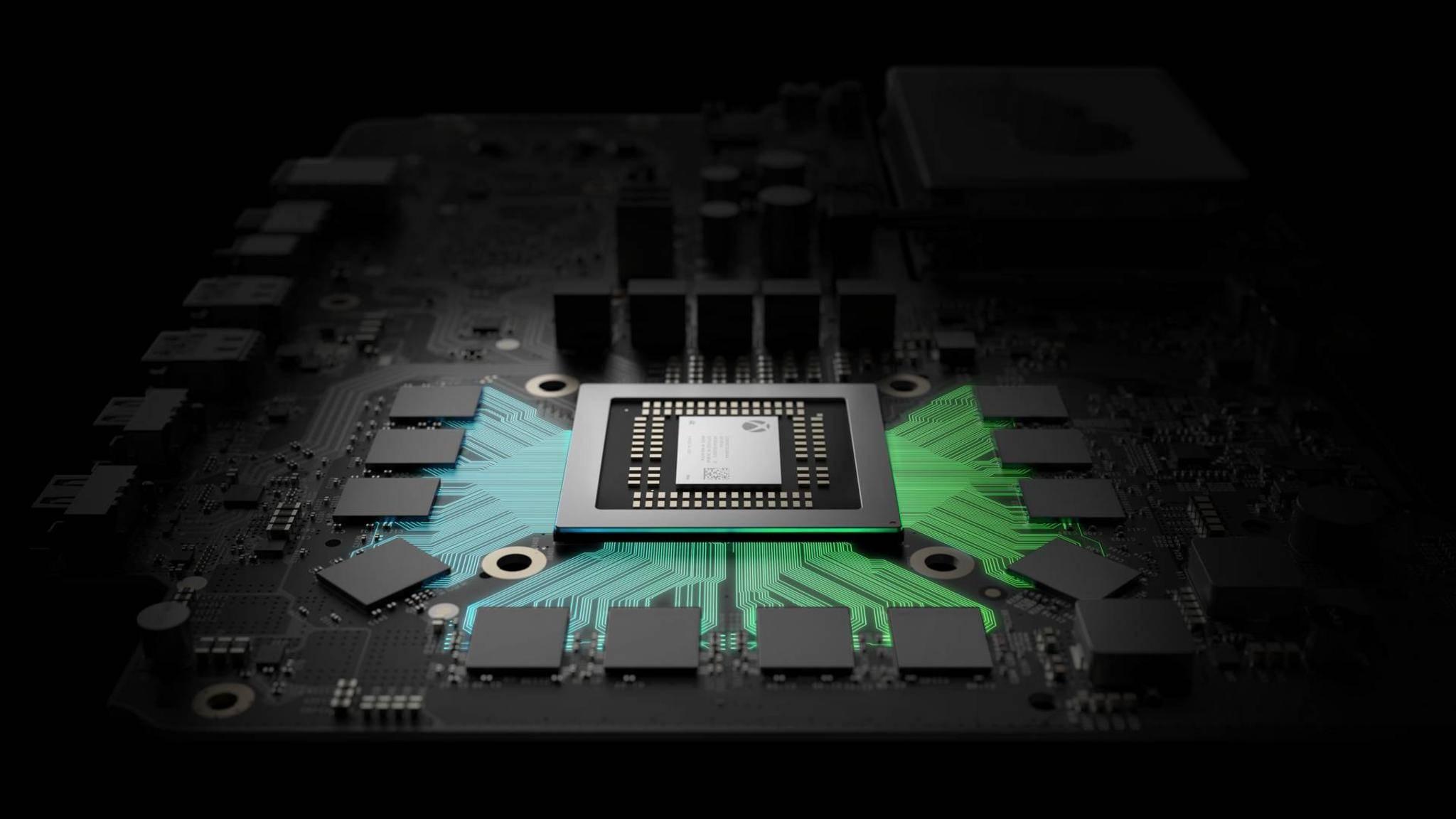 Einige Xbox One-Spiele werden auf der Xbox Scorpio in 4K-Auflösung laufen.