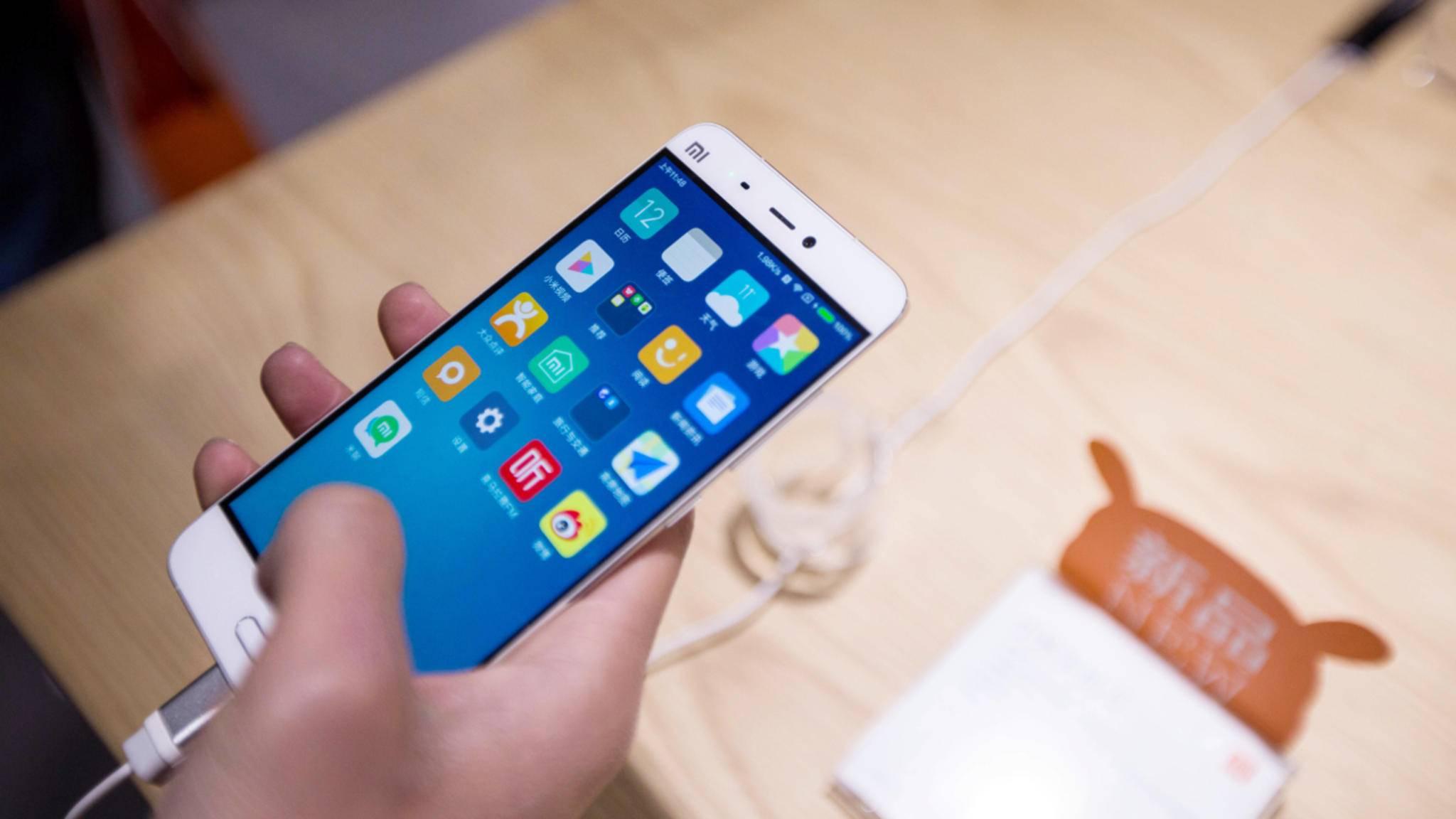Der Vorgänger des Xiaomi Mi 6, das Mi, wurde auf dem MWC 2016 vorgestellt.