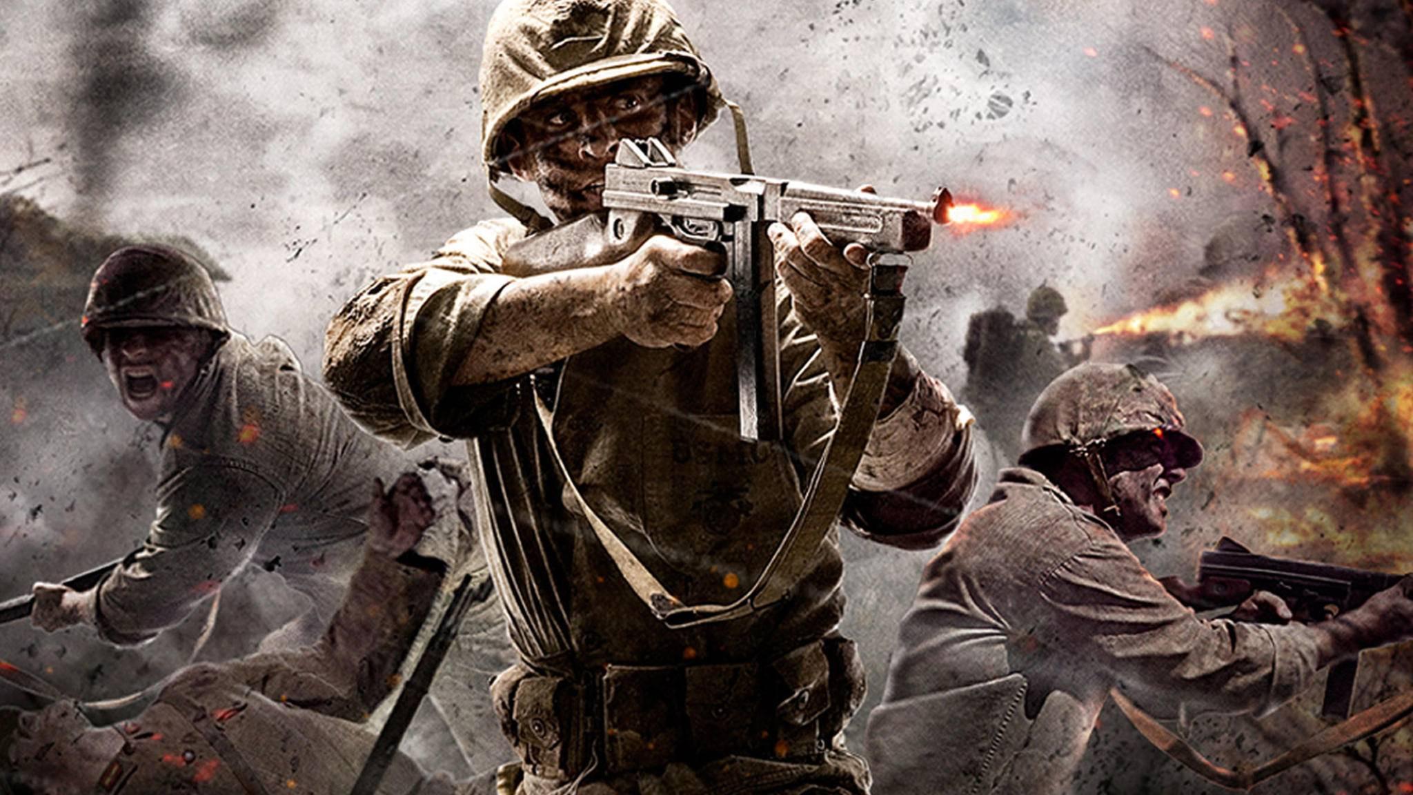 """Im Multiplayer-Modus von """"Call of Duty: WW2"""" dürfen nicht nur ausschließlich die Männer ran."""