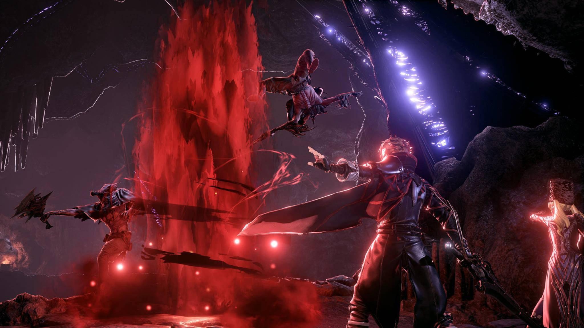 """Blut, Magie, schwere Waffen und fiese Monster: """"Code Vein"""" hat, was ein Fantasy-RPG so braucht."""