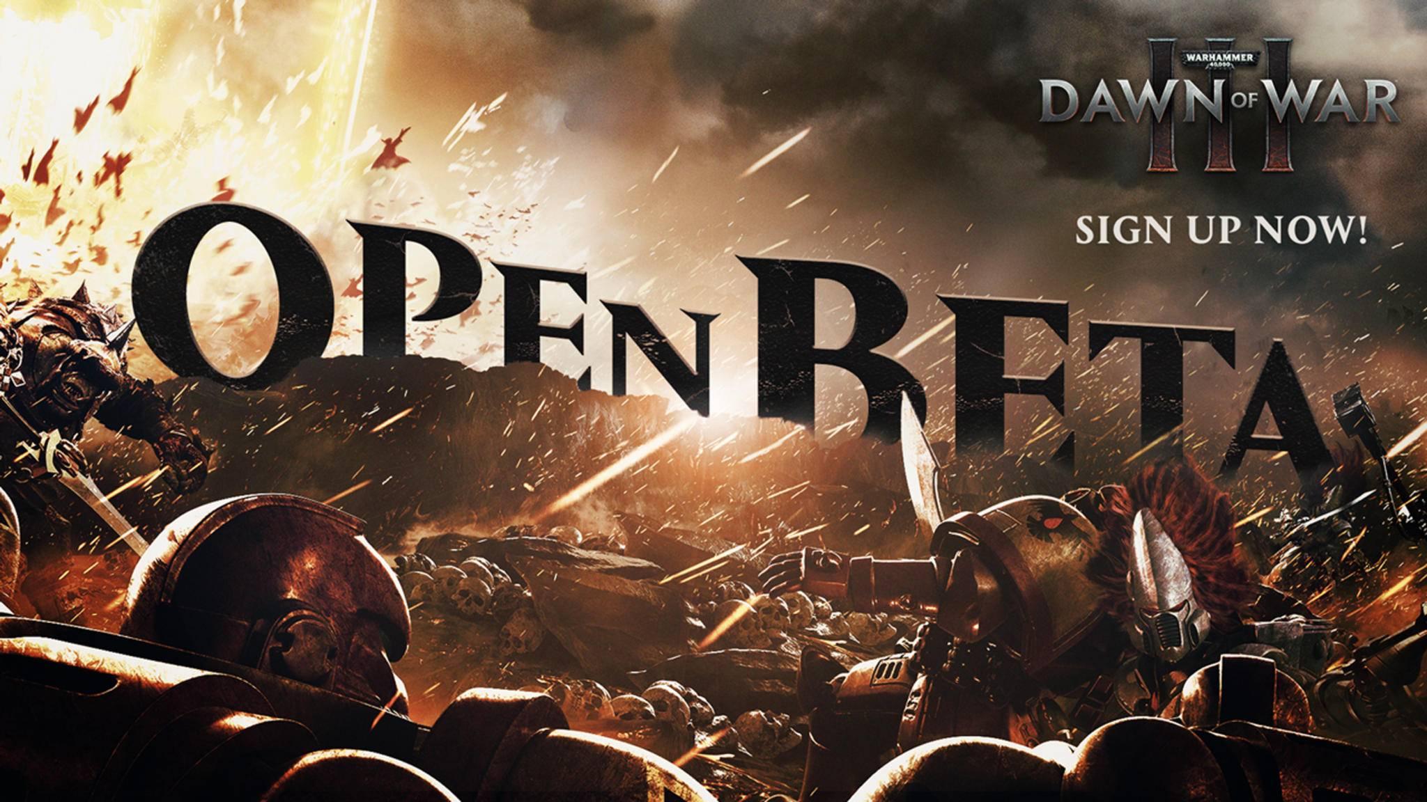 Für den neuen Titel der Warhammer 40K-Reihe gibt's bald eine Open Beta.