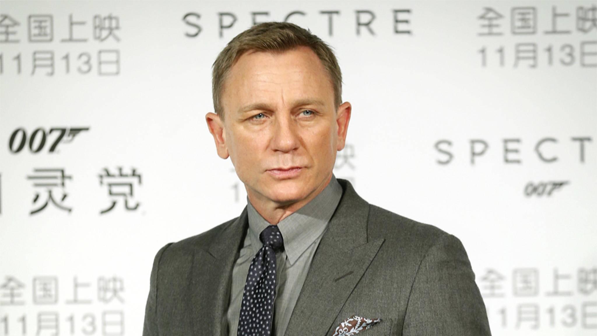 Ob Daniel Craig bald sein fünftes Abenteuer im Auftrag seiner Majestät bestreitet, hängt noch am seidenen Faden.