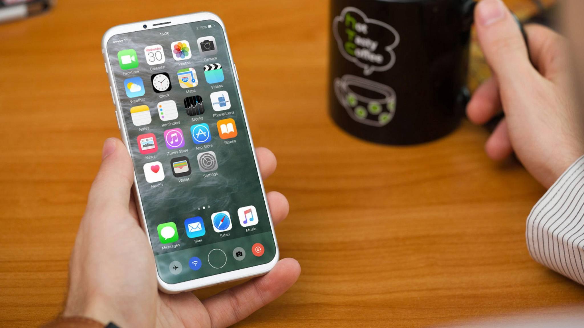 Das iPhone 8 könnte über eine hochentwickelte Gesichtserkennung verfügen.