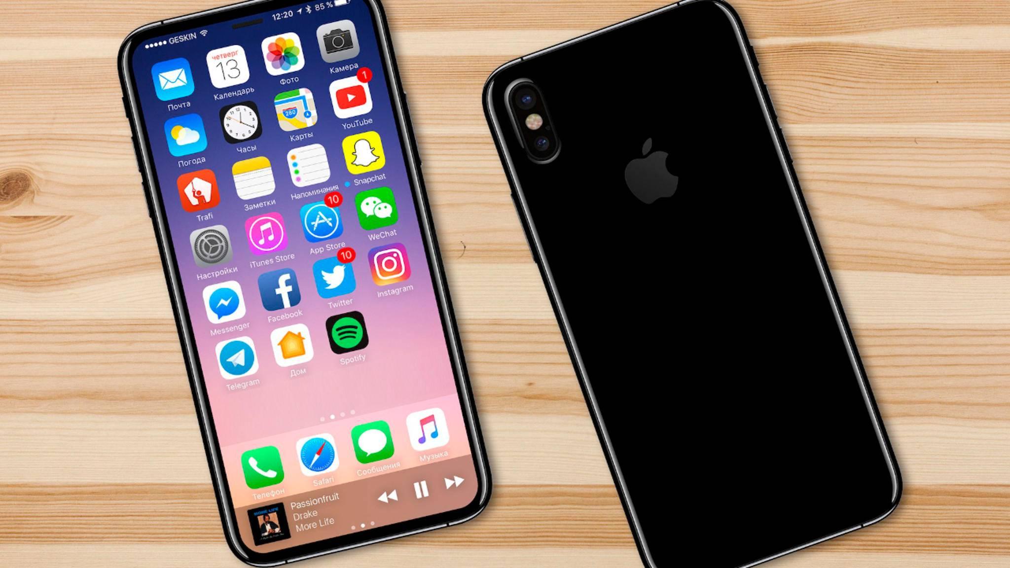 Kann Apple beim iPhone 8 Touch ID im Display umsetzen?