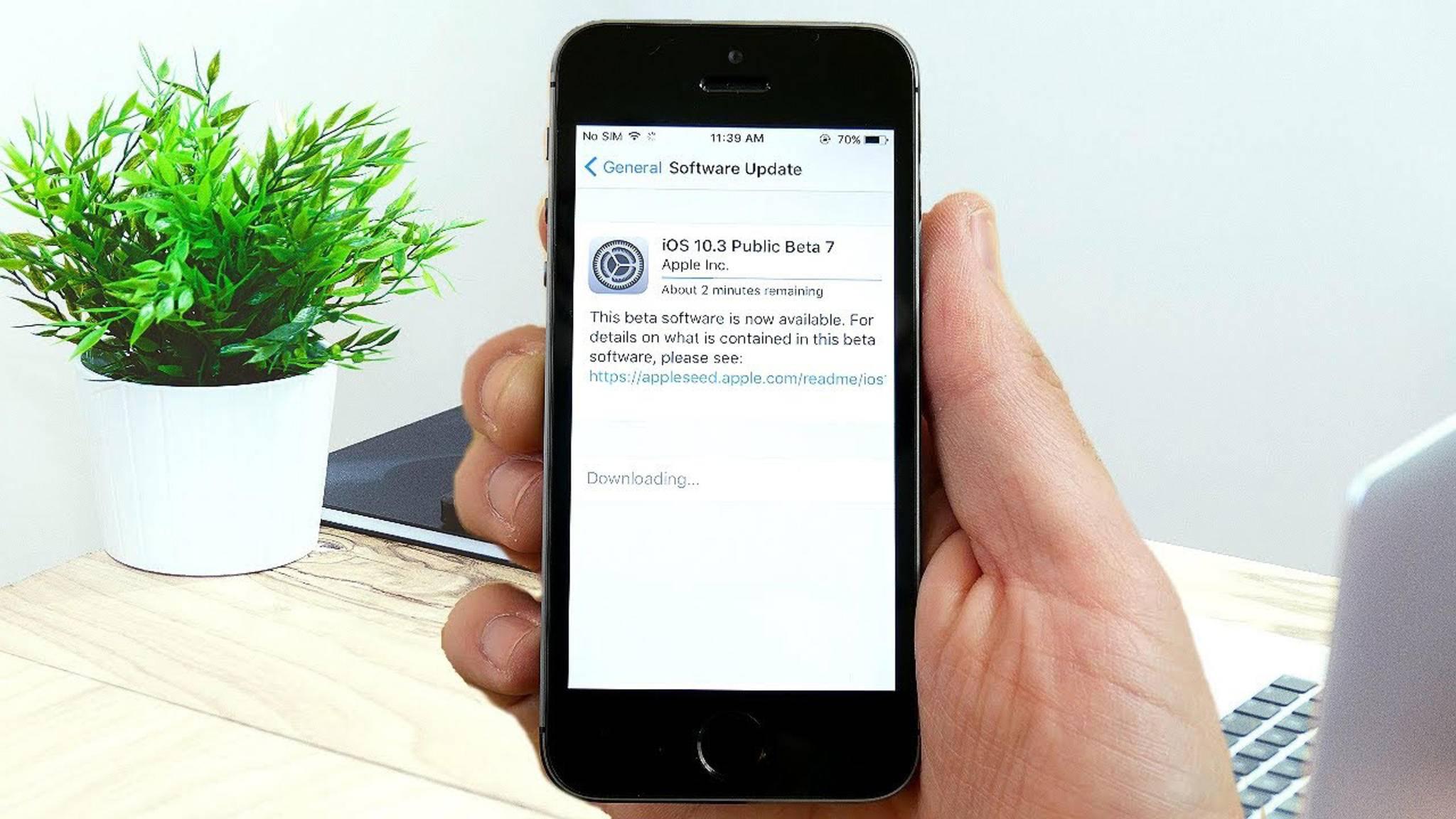 Keine Lust mehr auf Beta-Software? Dann deinstalliere das Beta-Profil auf Deinem iPhone.