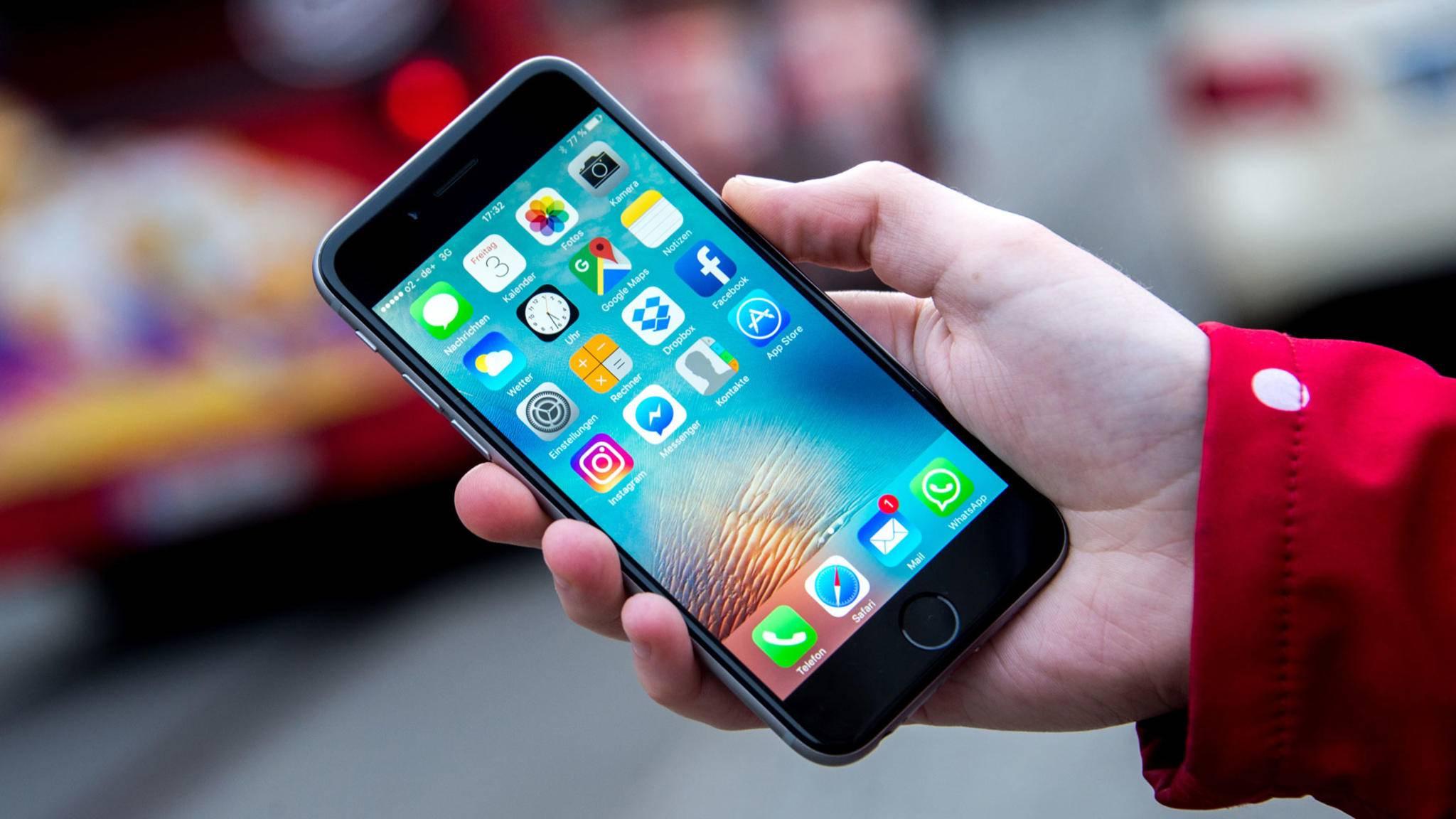 Immer wissen, wo jemand steckt: Die Freunde-App auf dem iPhone machts möglich.