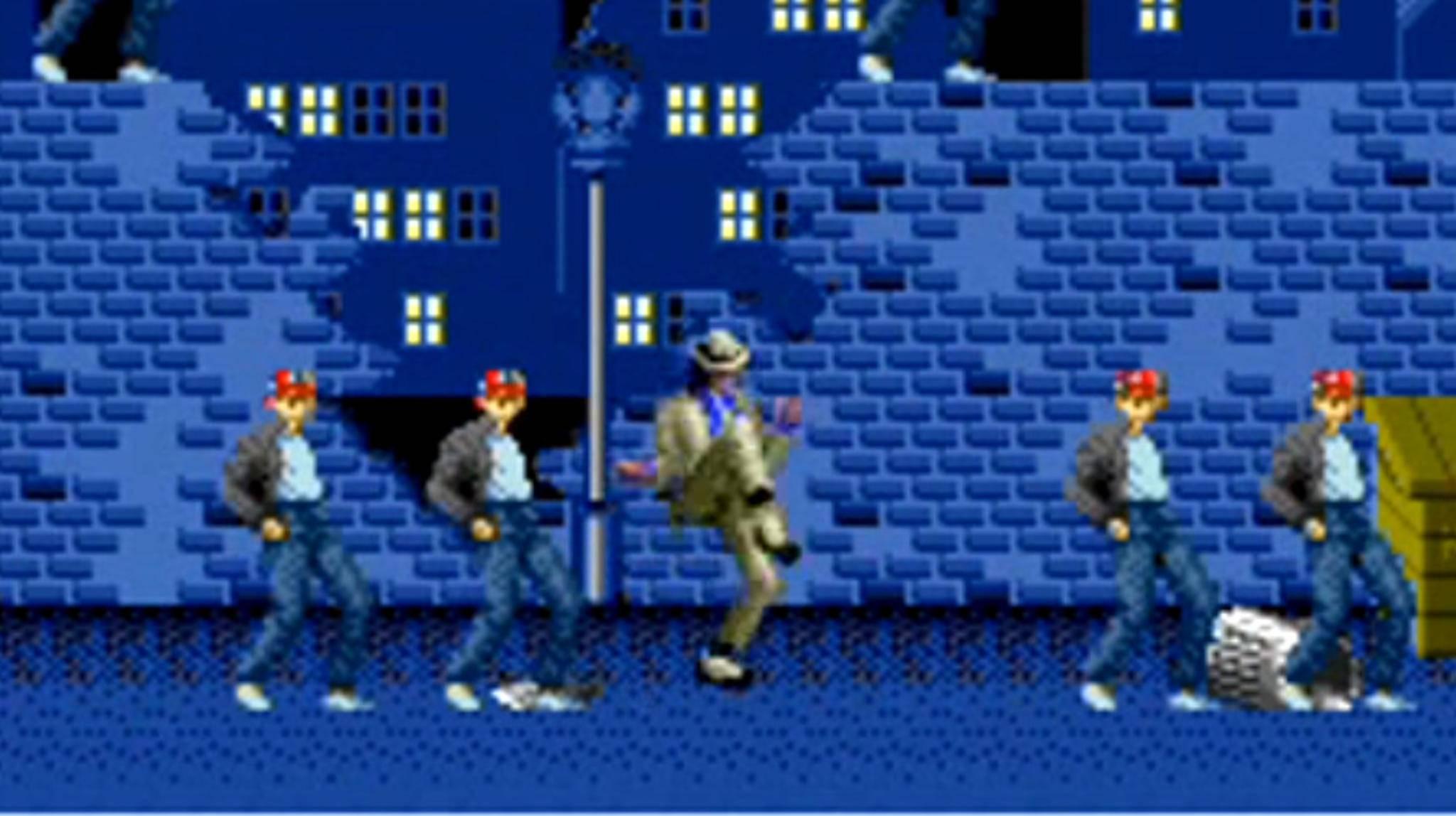 """Michael Jackson als Game-Charakter? Ja, das gibt's – im Spiel """"Moonwalker""""!"""