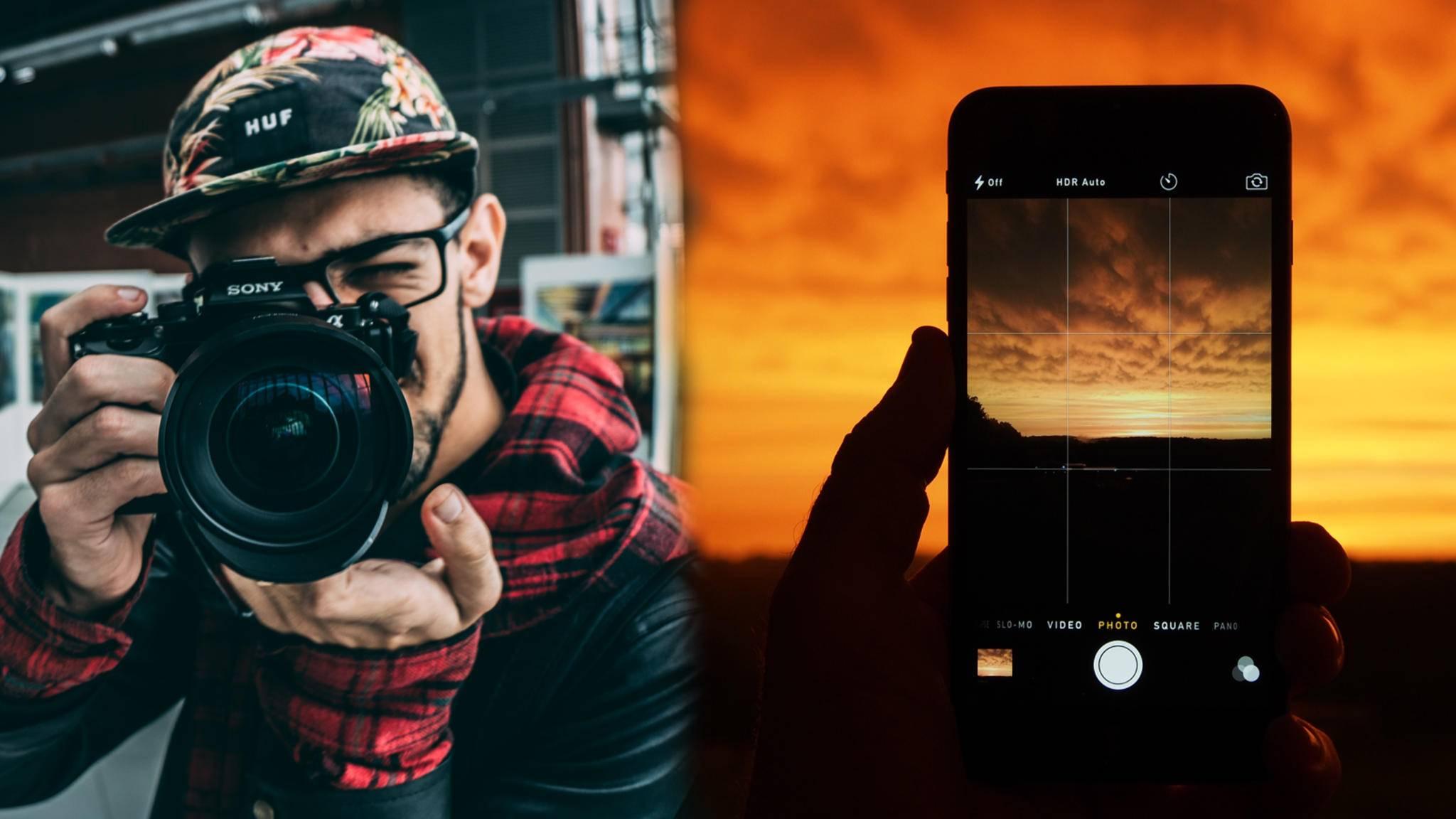 Wer setzt sich im Vergleich Smartphone vs. Kamera durch?
