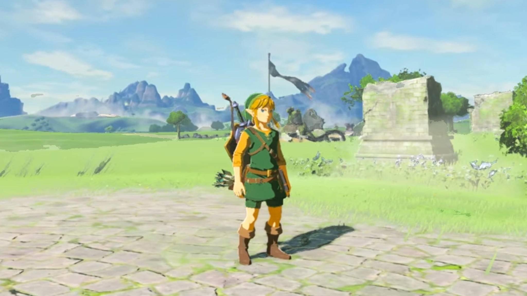 """Um in """"Legend of Zelda: Breath of the Wild"""" im klassischen grünen Outift auf Abenteuerjagd zu gehen, musst Du eine groß angelegte Quest lösen."""