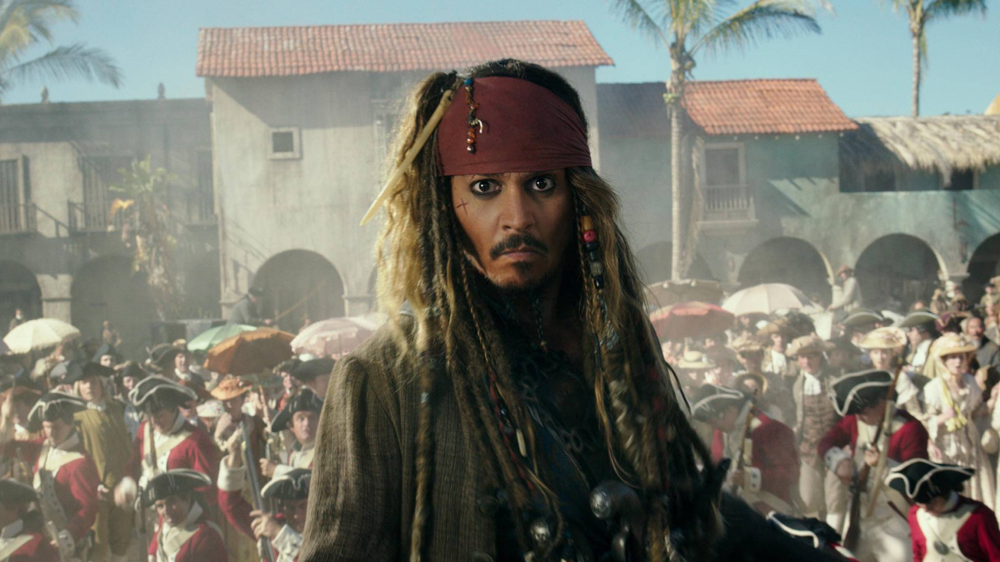 """Captain Jack Sparrow hat in """"Fluch der Karibik 5"""" wenig zu lachen."""