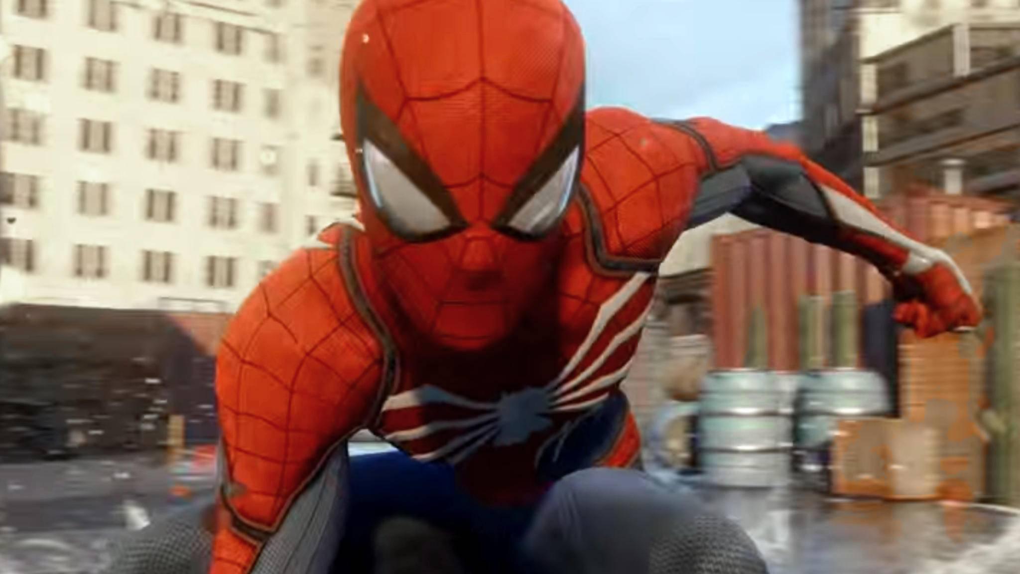 Vielleicht dauert es noch bis 2018, bis sich Spider-Man auf der PS4 durch New York schwingt.