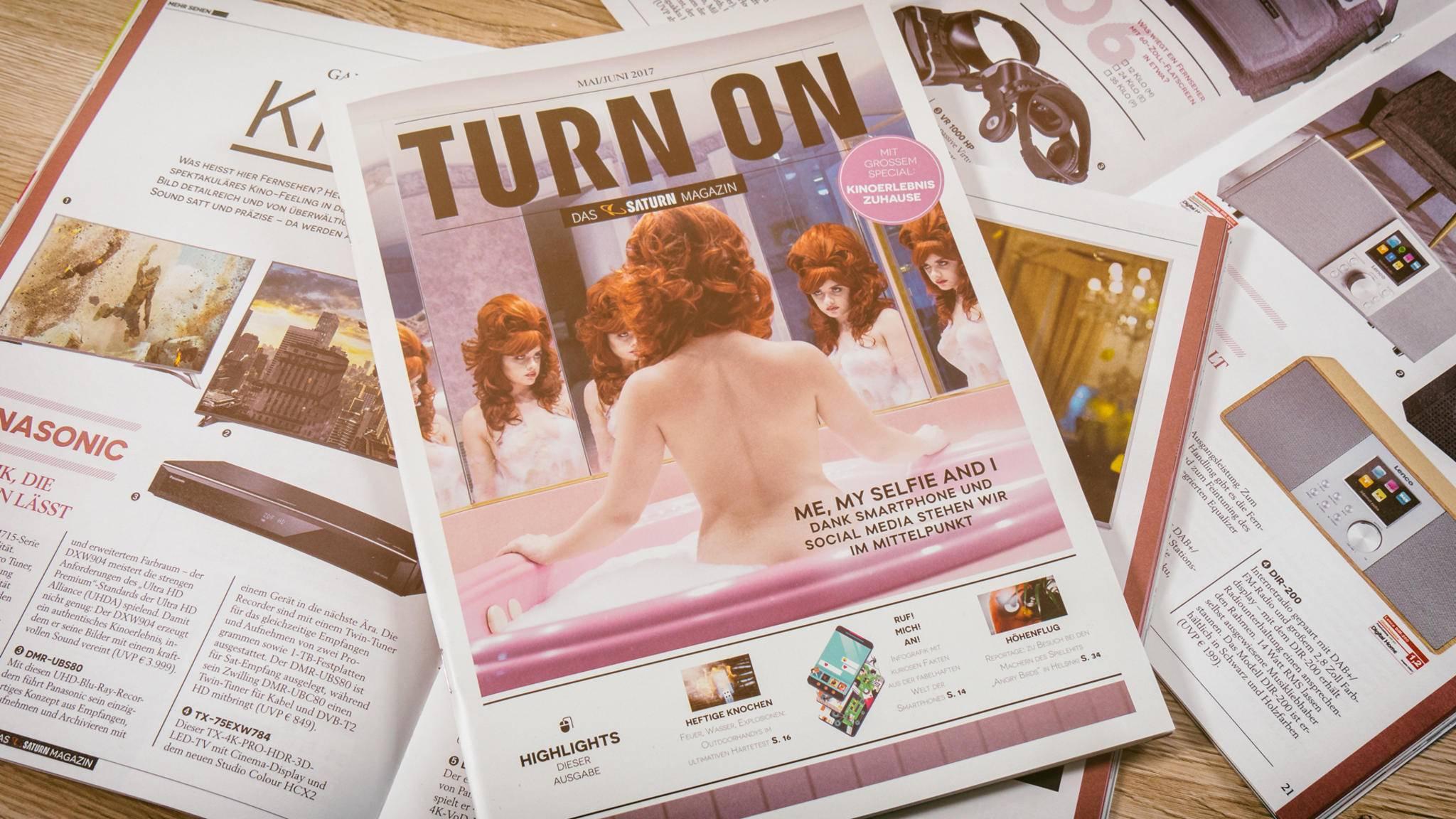 Die TURN ON-Ausgabe für Mai und Juni ist da!