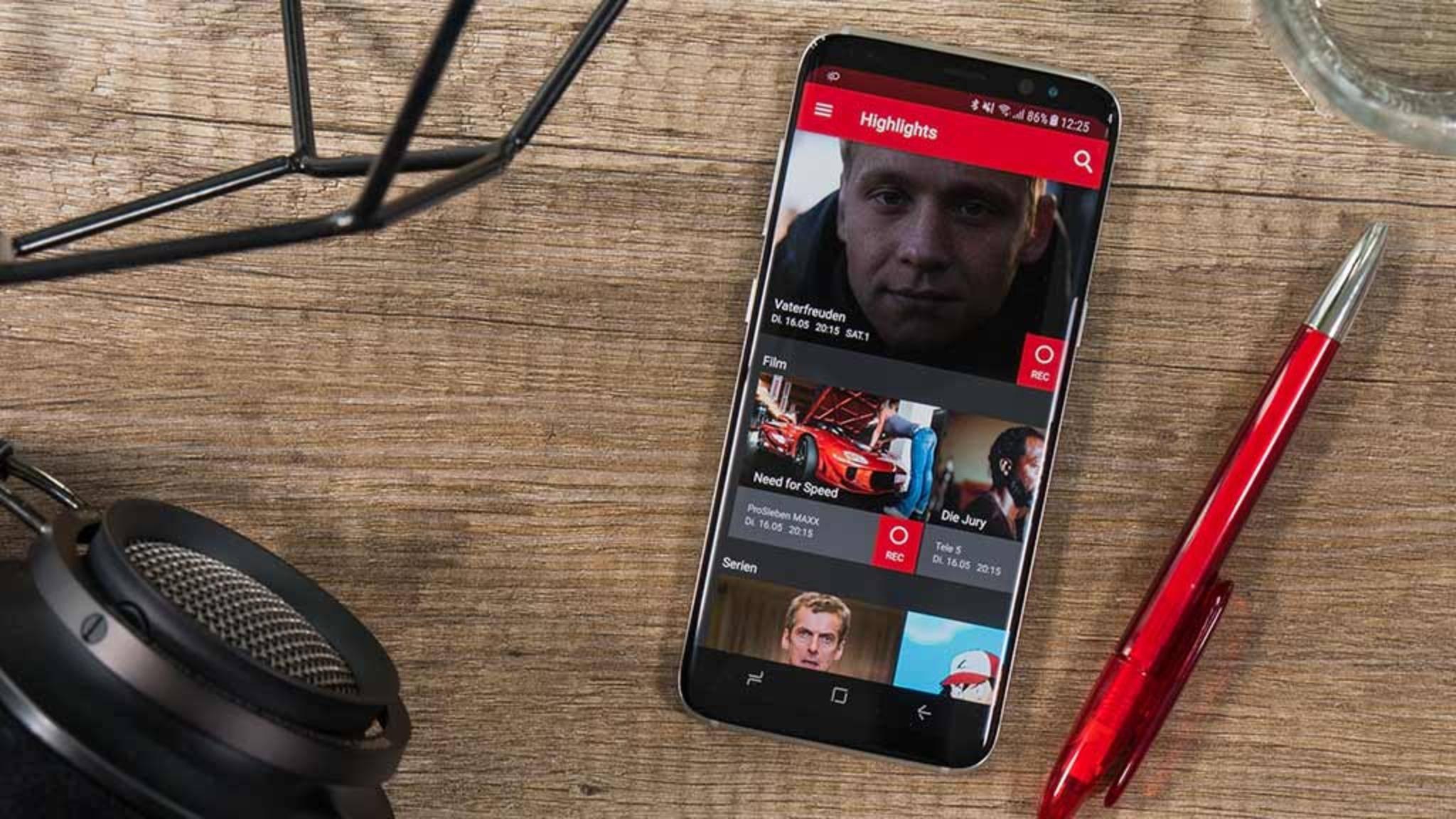 save.tv-handy-app-startscreen