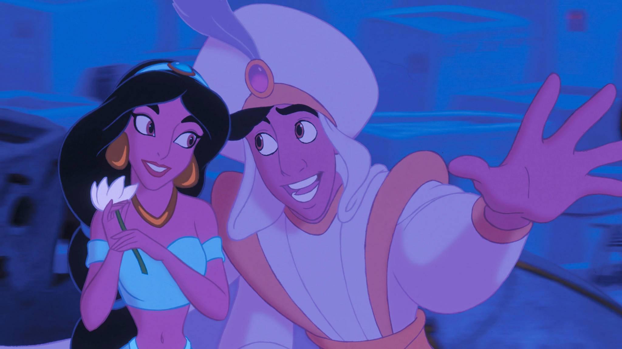 Auch in der Realverfilmung wird Aladdin seiner Jasmin wohl ein Ständchen bringen.
