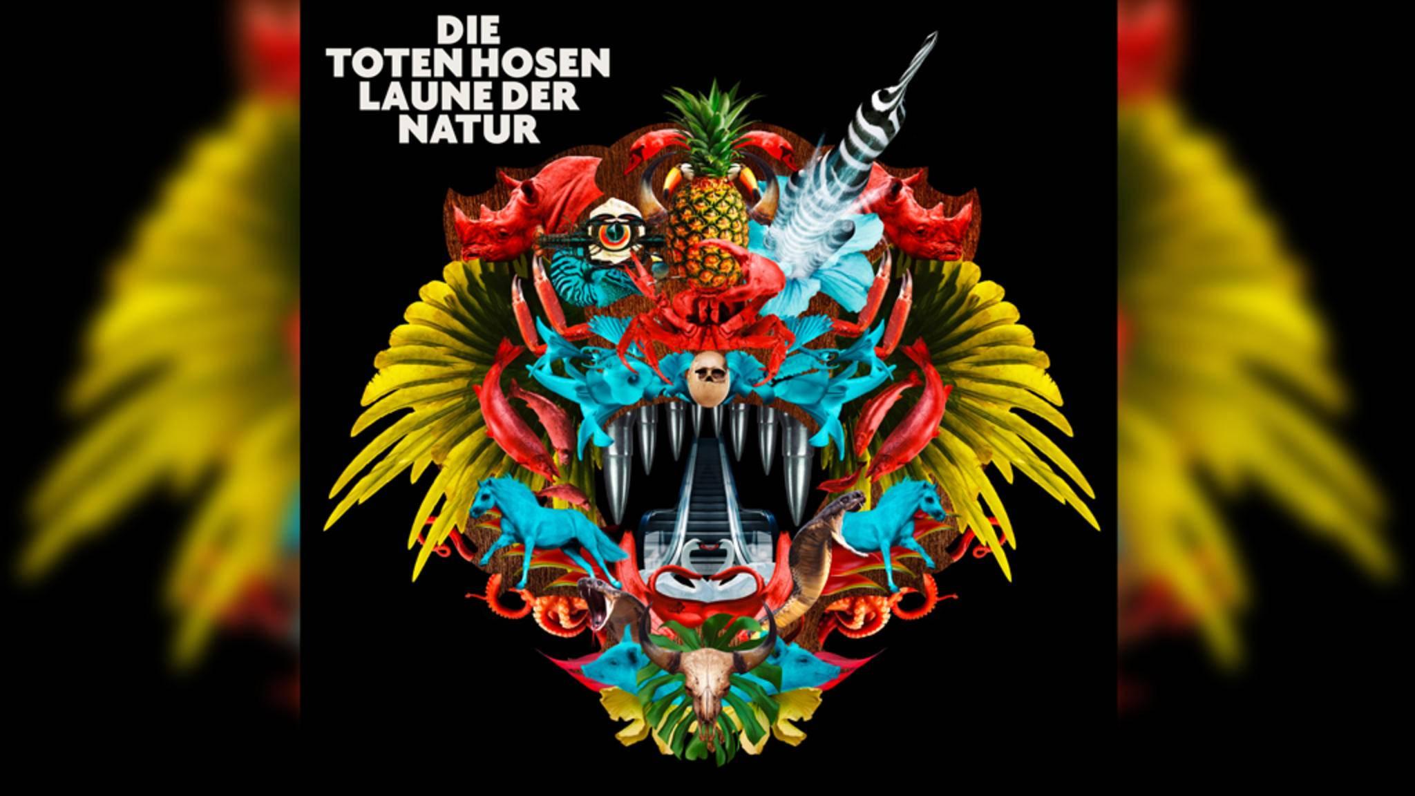 """""""Laune der Natur"""" ist bereits das 16. Album der Toten Hosen."""