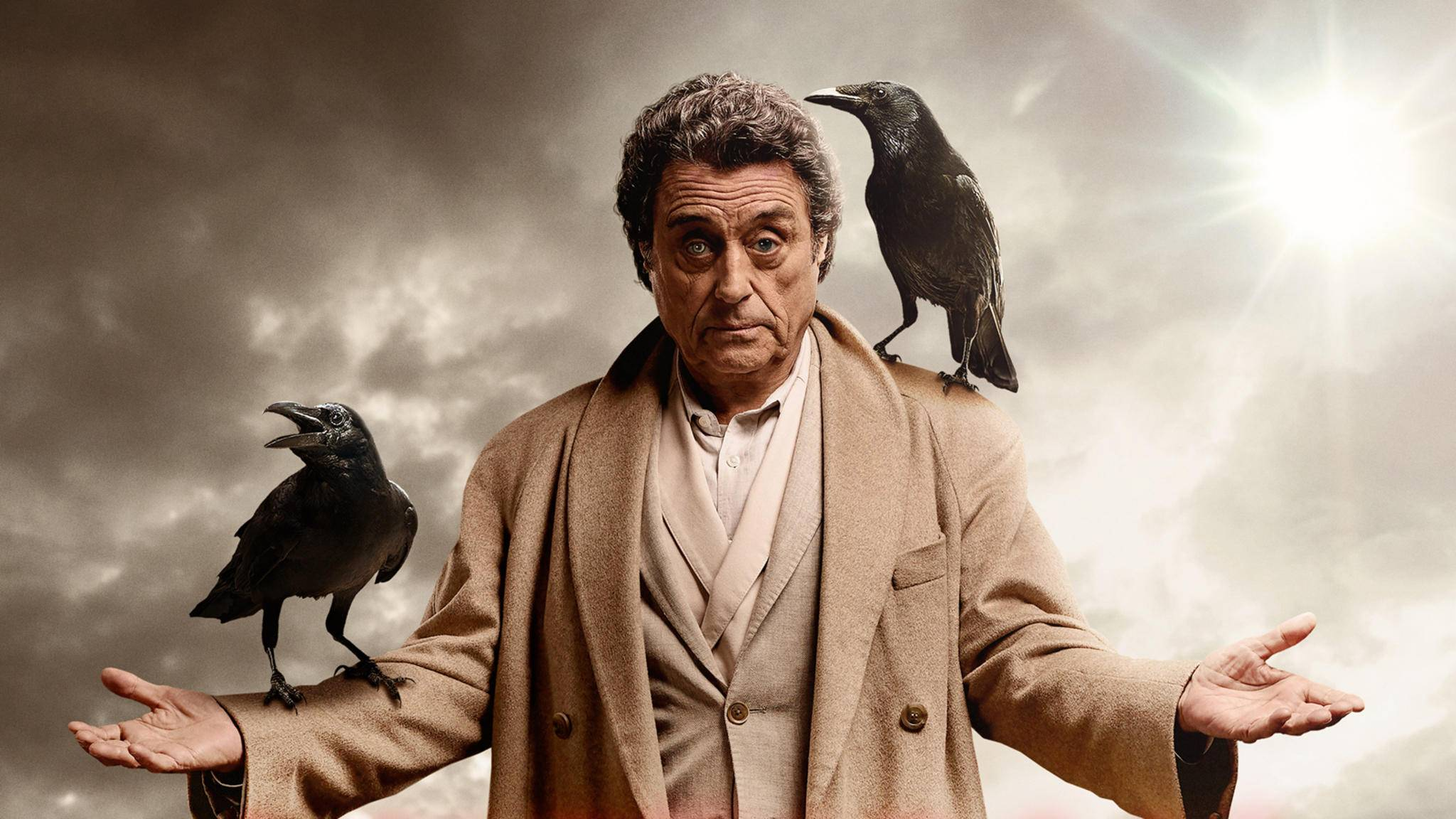 "Was führt Mr. Wednesday (Ian McShane) in ""American Gods"" im Schilde?"