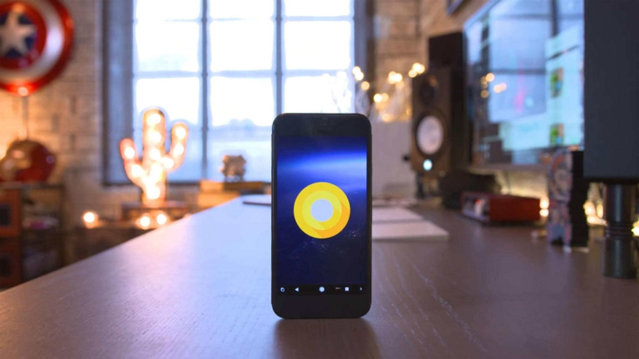 Android O steht in den Startlöchern.
