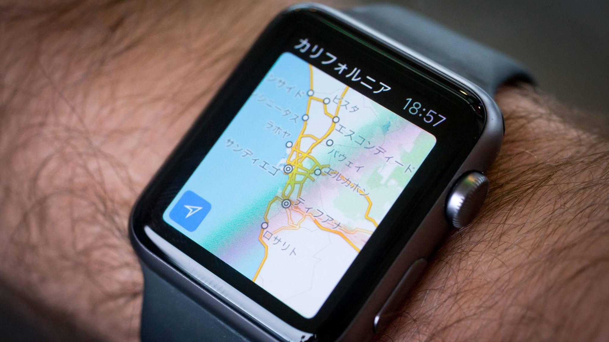 Schluss mit Google Maps auf der Apple Watch – zumindest vorerst.