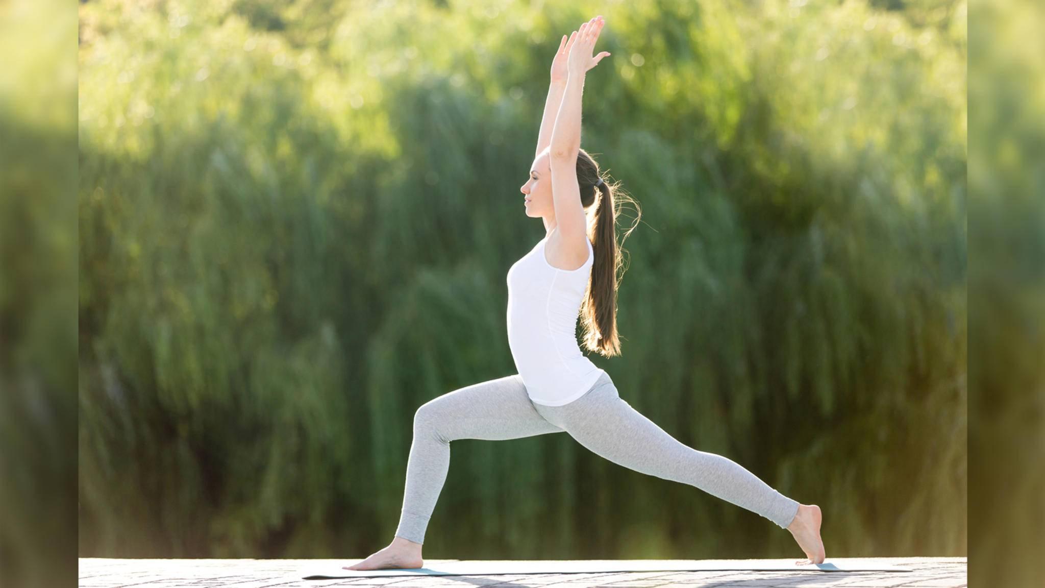 Der Ausfallschritt ist eine der besten Übungen für mehr Koordination und Gleichgewicht.