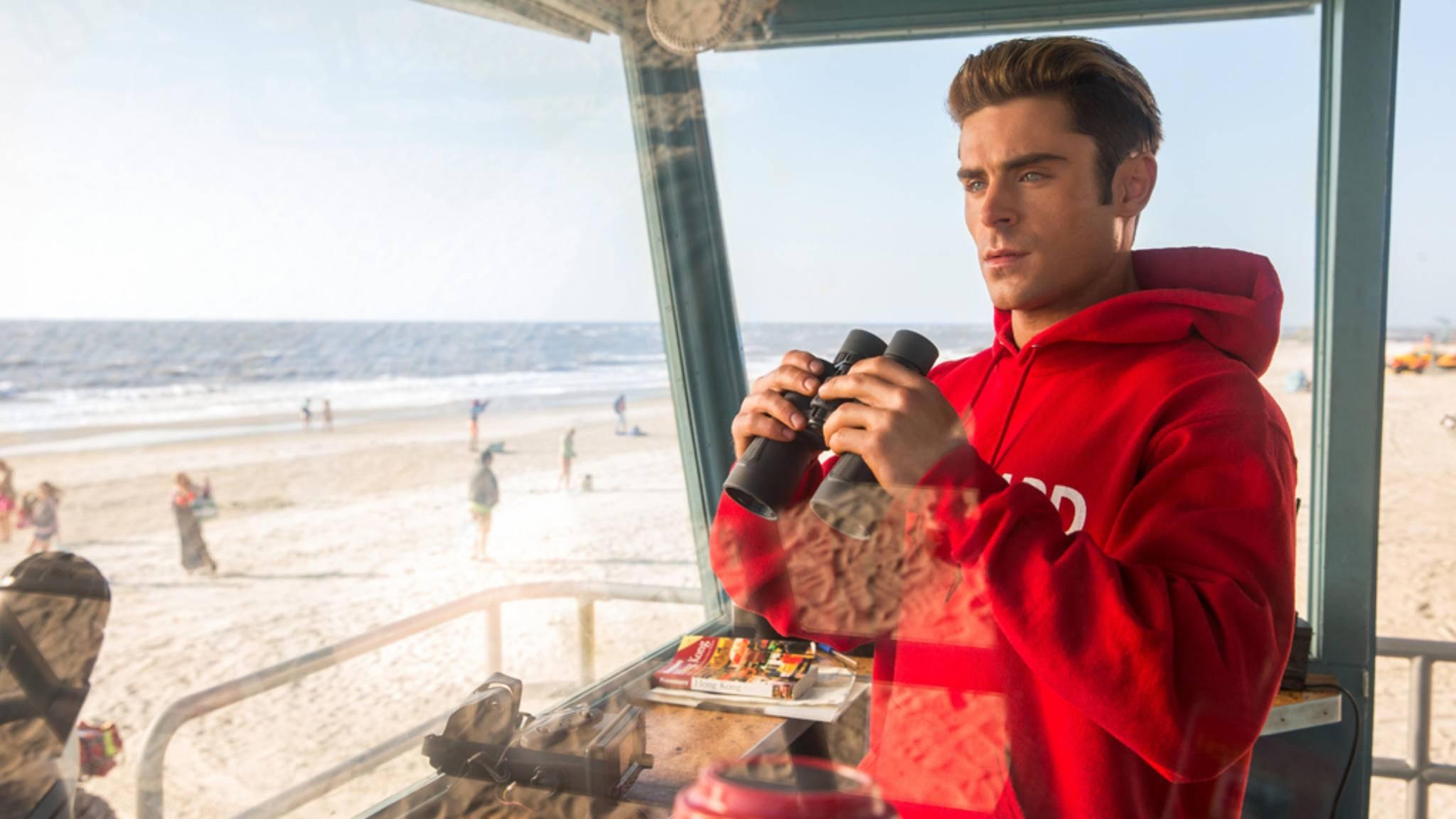"""Vom Bademeister zum Serienkiller: Ab Juni wird Zac Efron mit """"Baywatch"""" die deutschen Kinos erobern, bevor er als Ted Bundy vor die Kamera tritt."""
