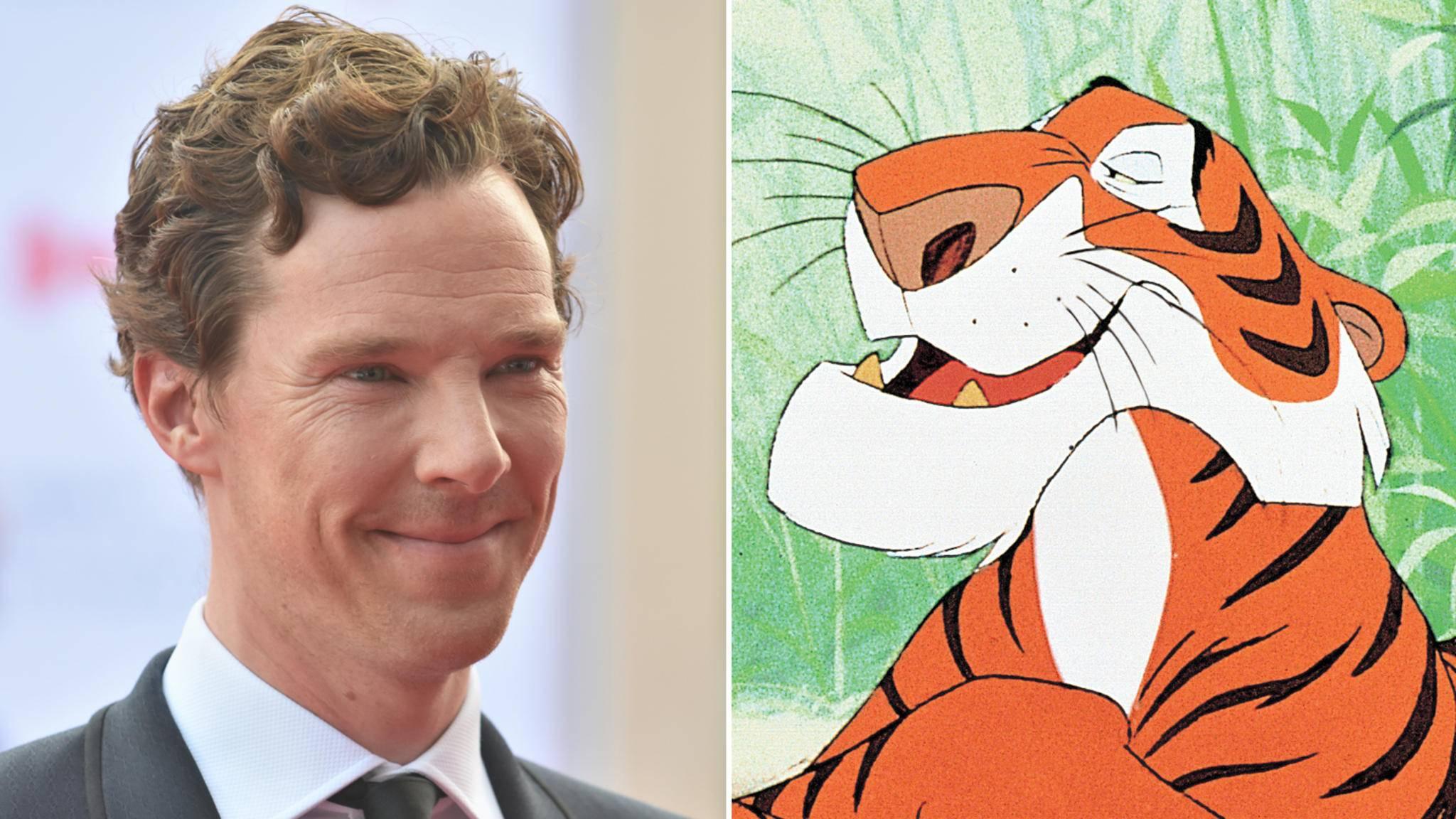 """Im neuen """"The Jungle Book"""" wird Benedict Cumberbatch zu Shir Khan."""