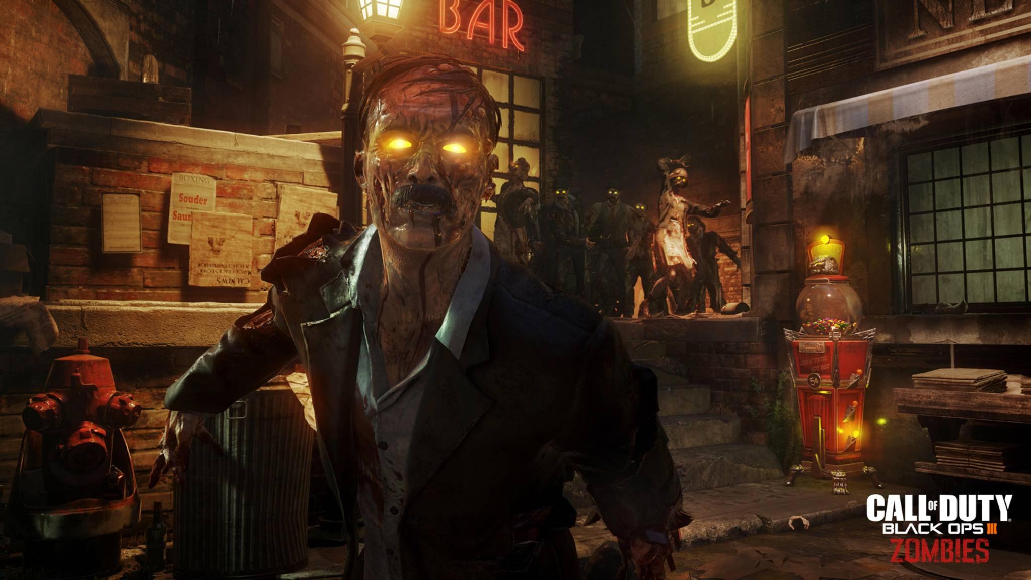 """Noch mehr Futter für Zombie-Fans in """"Call of Duty""""."""