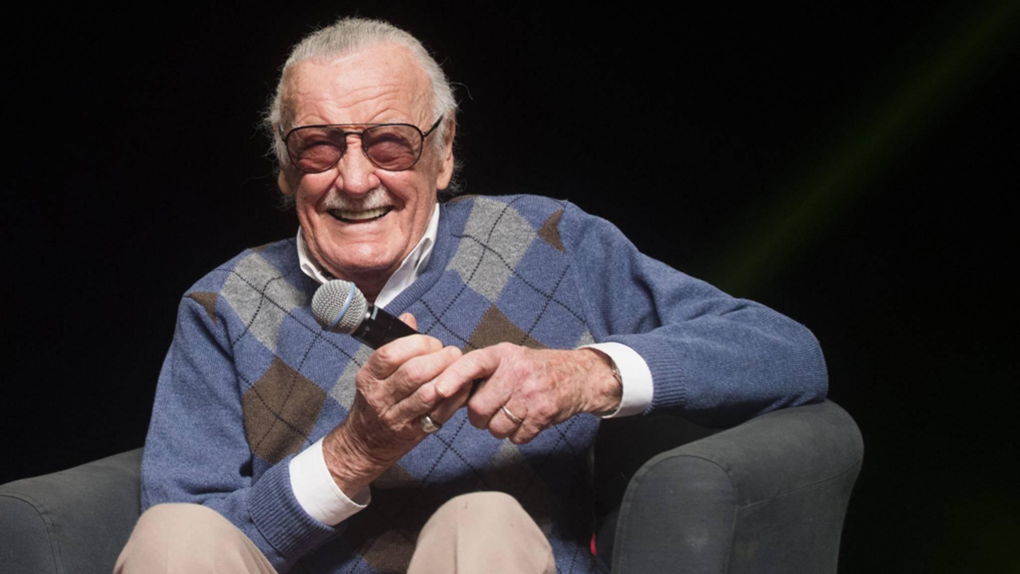 Stan Lee ist für jeden Spaß – und Cameo-Auftritt – zu haben.