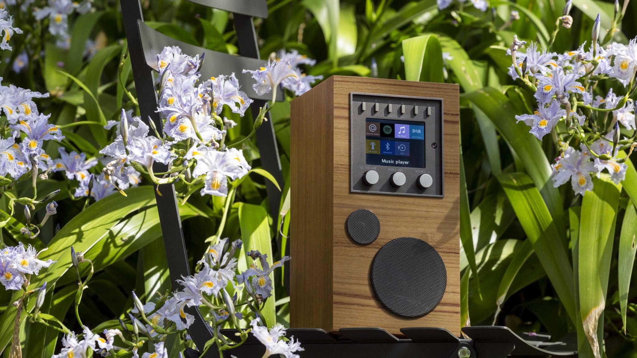 Der Como Audio Amico ist ein edler WLAN-Lautsprecher.