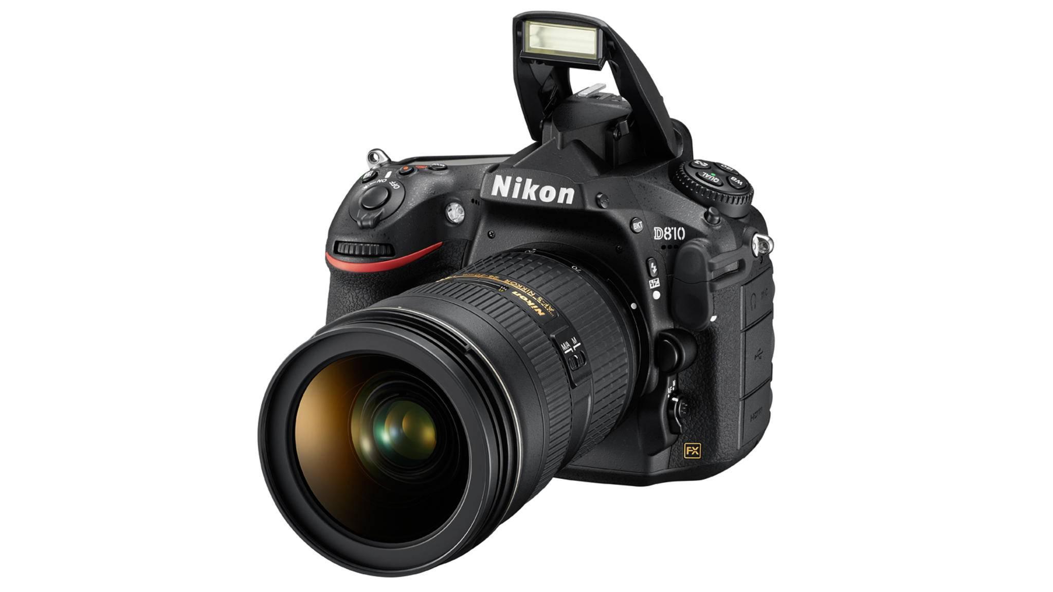 Sollte die Nikon D820 tatsächlich das AF-System der D5 bekommen, wäre das eine deutliche Verbesserung zum Vorgängermodell D810 (hier im Bild).