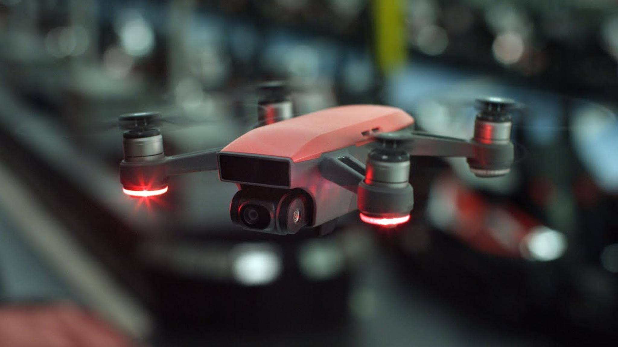 Die DJI Spark ist die neueste Mini-Drohne des chinesischen Herstellers.