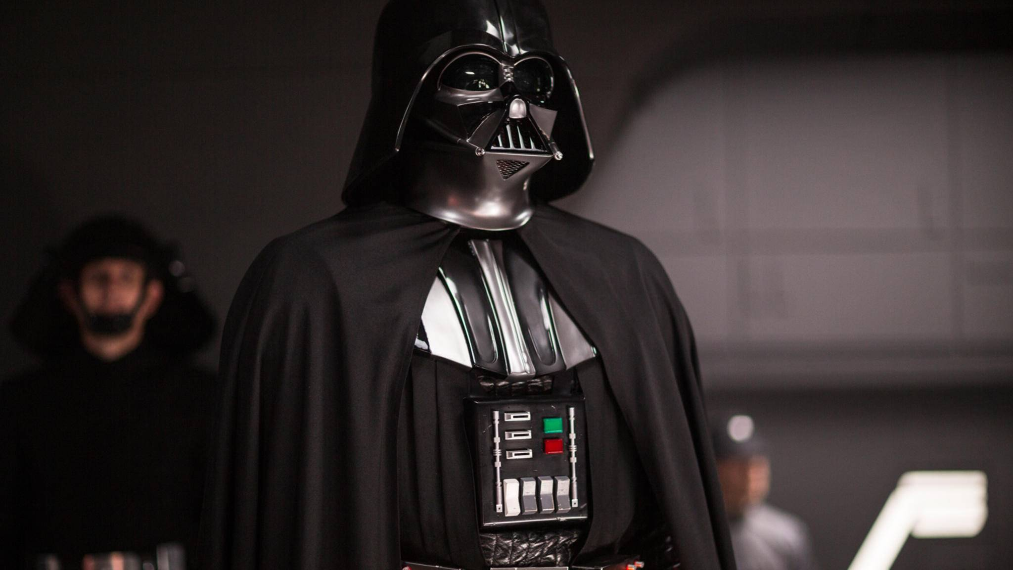 """Darth Vader, wie ihn seine Fans aus """"Star Wars"""" kennen und lieben."""