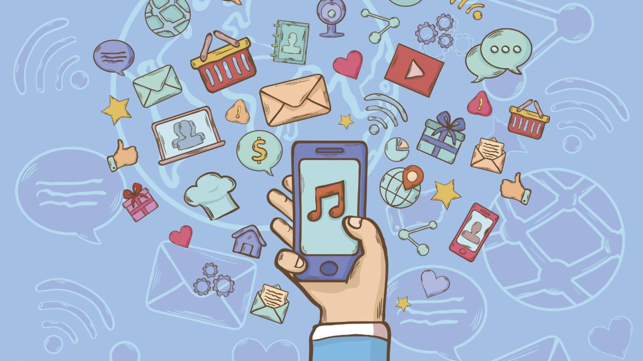 Wir verraten Dir, welche Apps das meiste Datenvolumen verbrauchen.