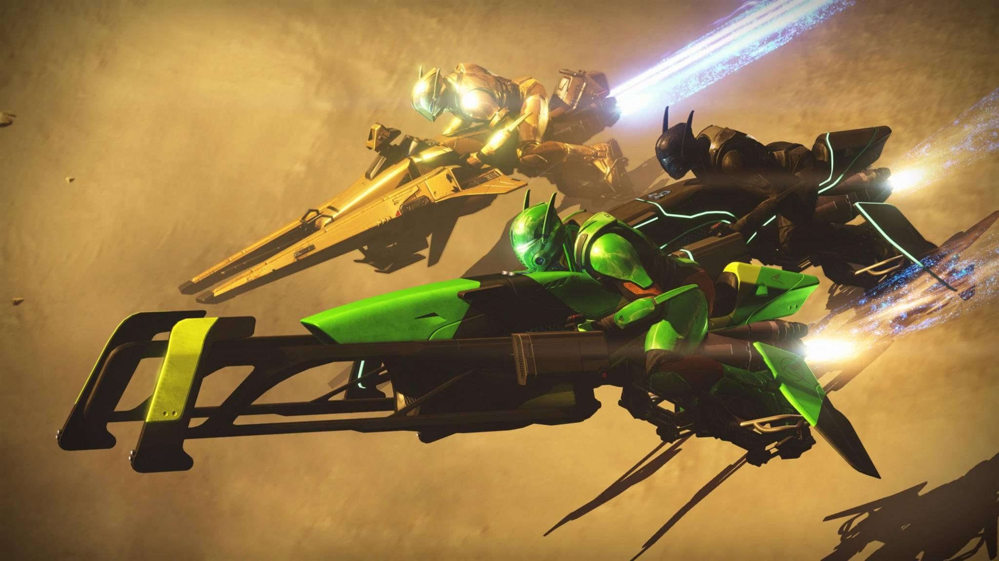 Destiny Sparrow Rennen