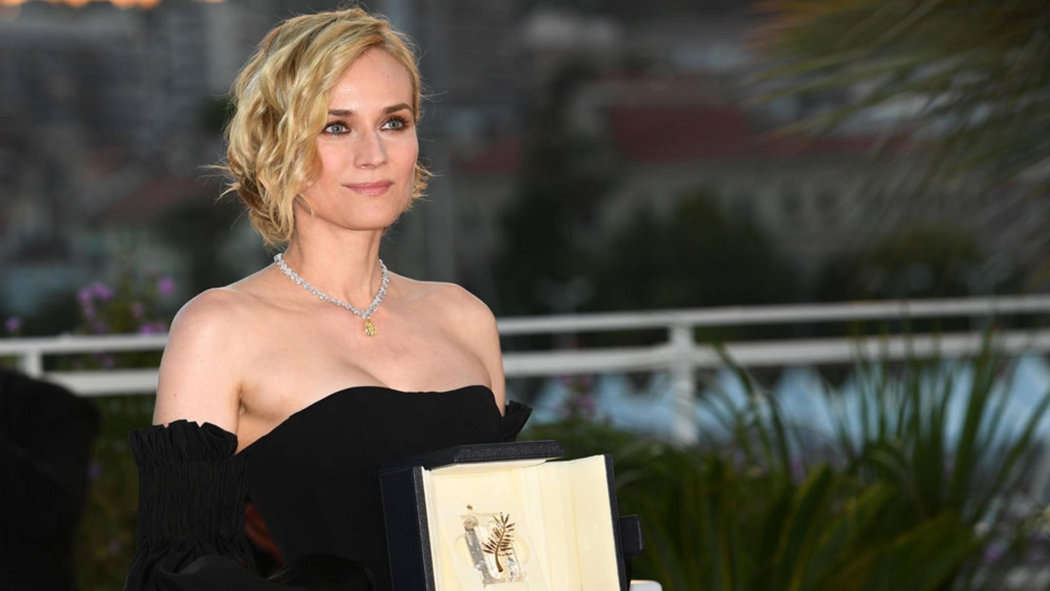 Diane Kruger ist eine der glücklichen Preisträgerinnen von Cannes 2017.