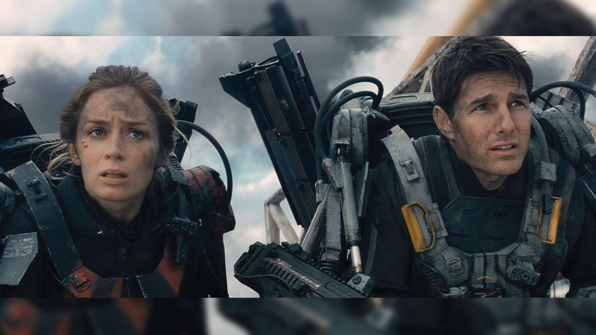 """Ob die Charaktere von Tom Cruise und Emily Blunt in """"Edge of Tomorrow 2"""" wohl wieder so viel einstecken müssen?"""