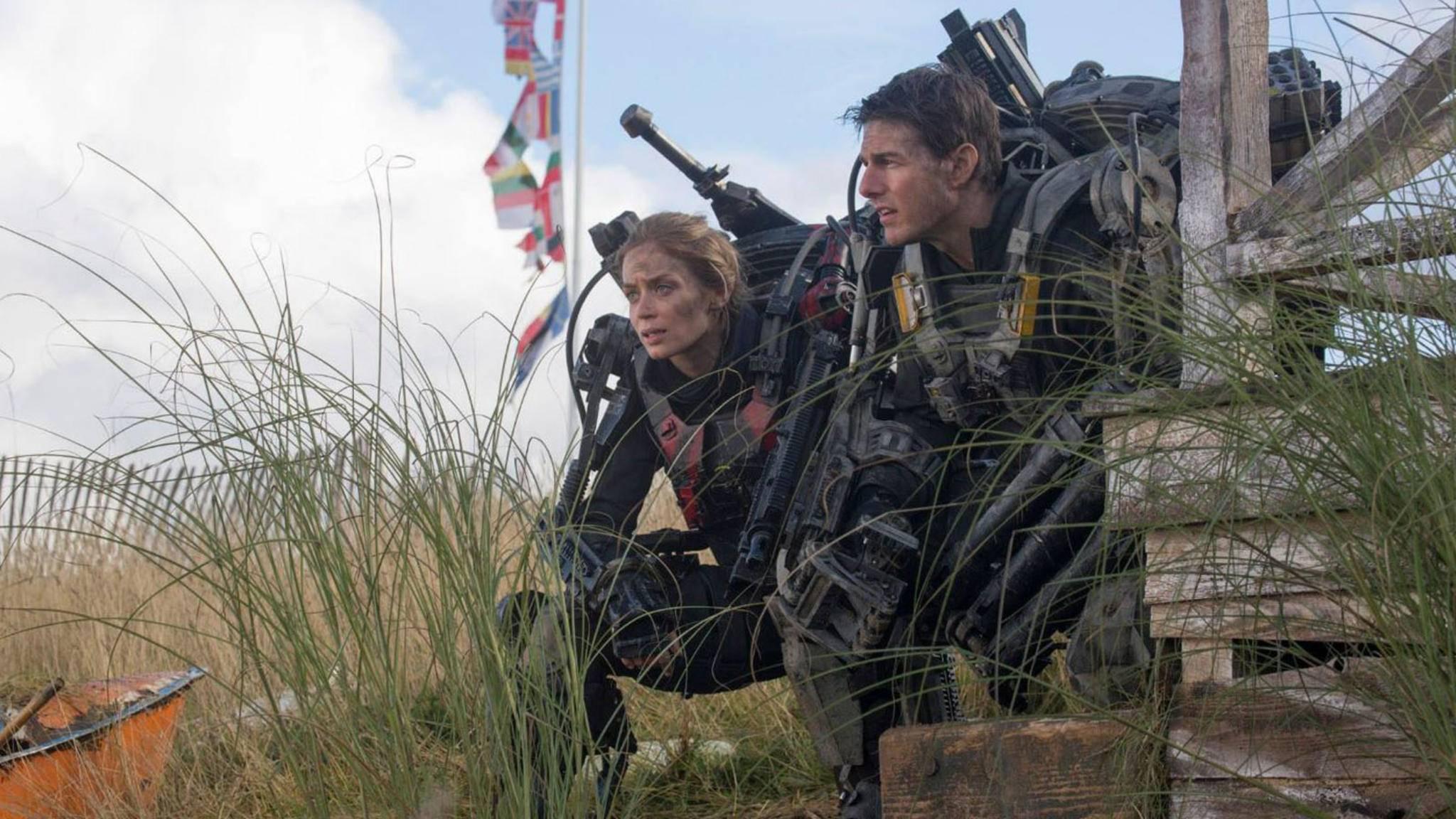 """Mit welchen Feinden bekommen es Emily Blunt und Tom Cruise in """"Edge of Tomorrow 2"""" wohl zu tun?"""