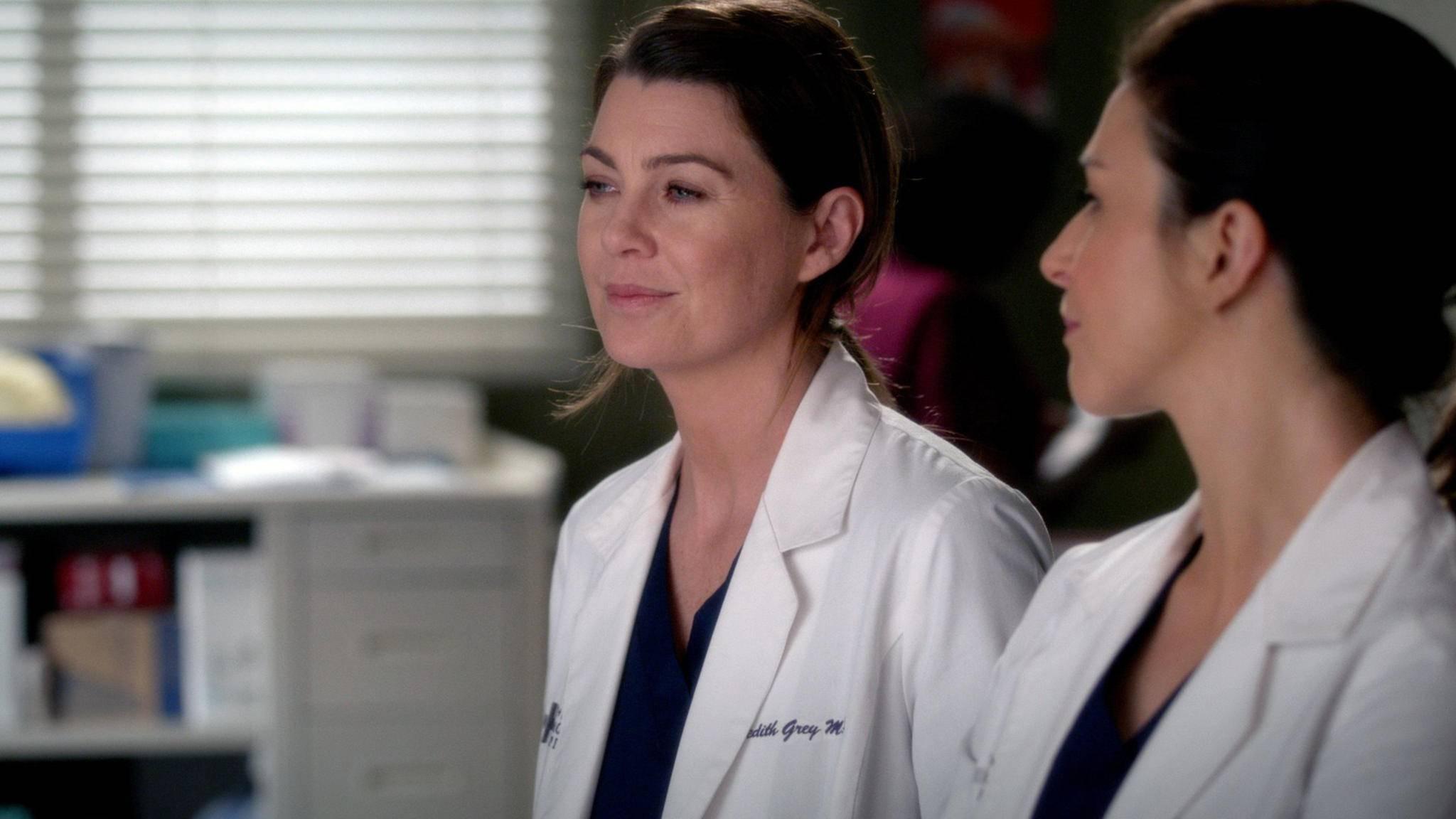 Meredith (Ellen Pompeo) bekommt in Seattle Gesellschaft von unerwarteter Seite.