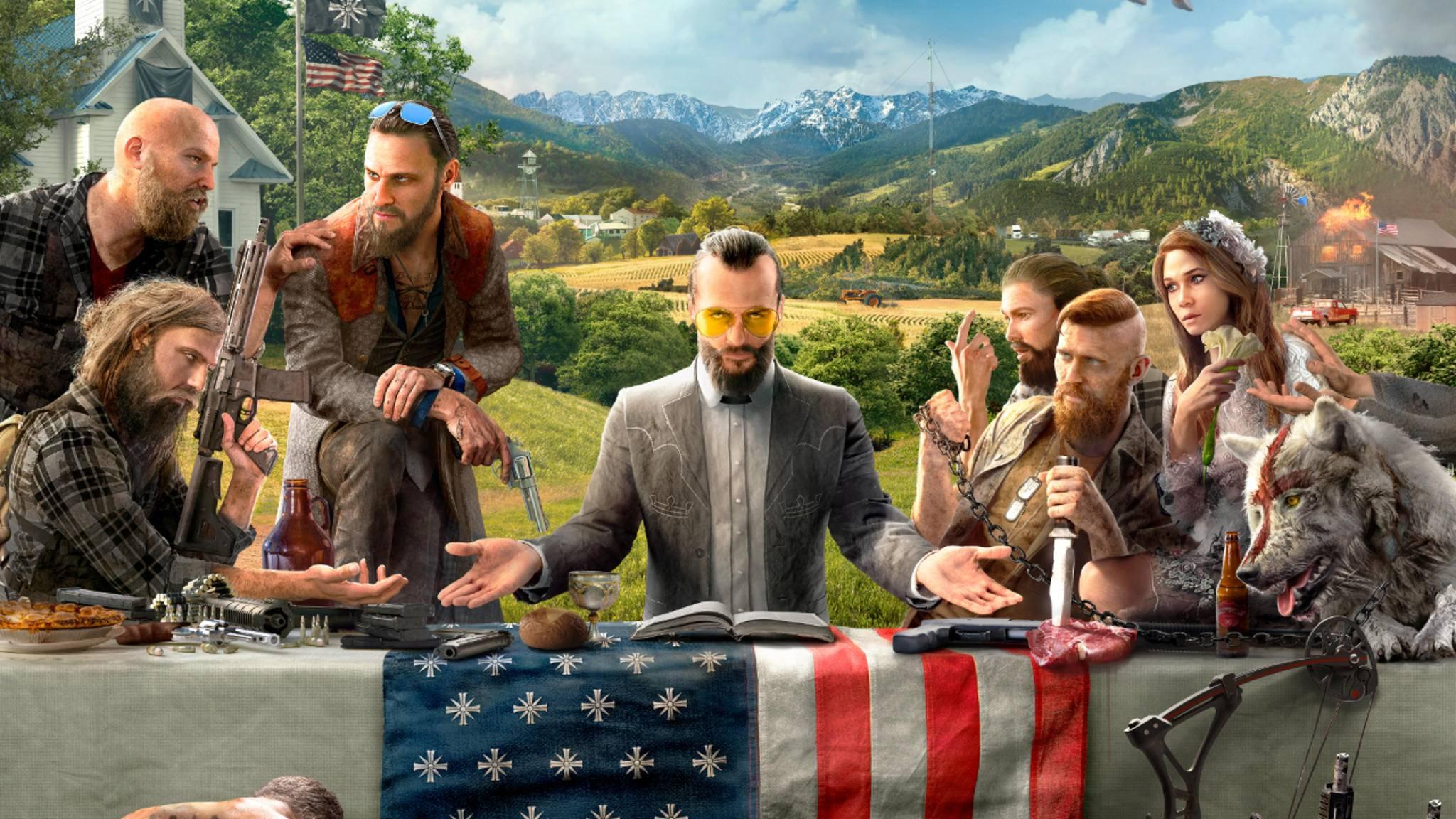 """Auch """"Far Cry 5"""" wird wohl wieder einen charismatischen Bösewicht haben."""