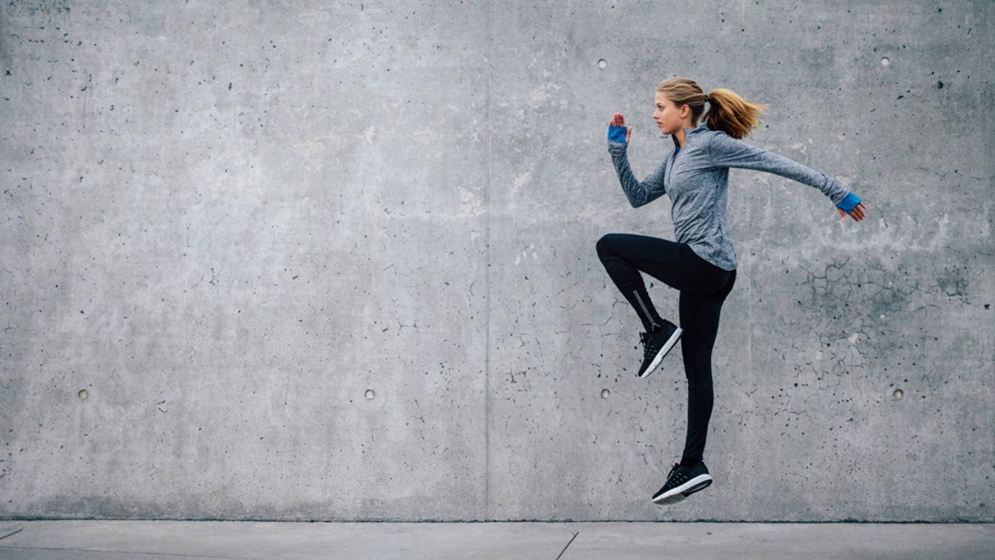 Höher, schneller, weiter: Beim Tabata-Training gilt es, vier Minuten lang die eigenen körperlichen Grenzen auszuloten.