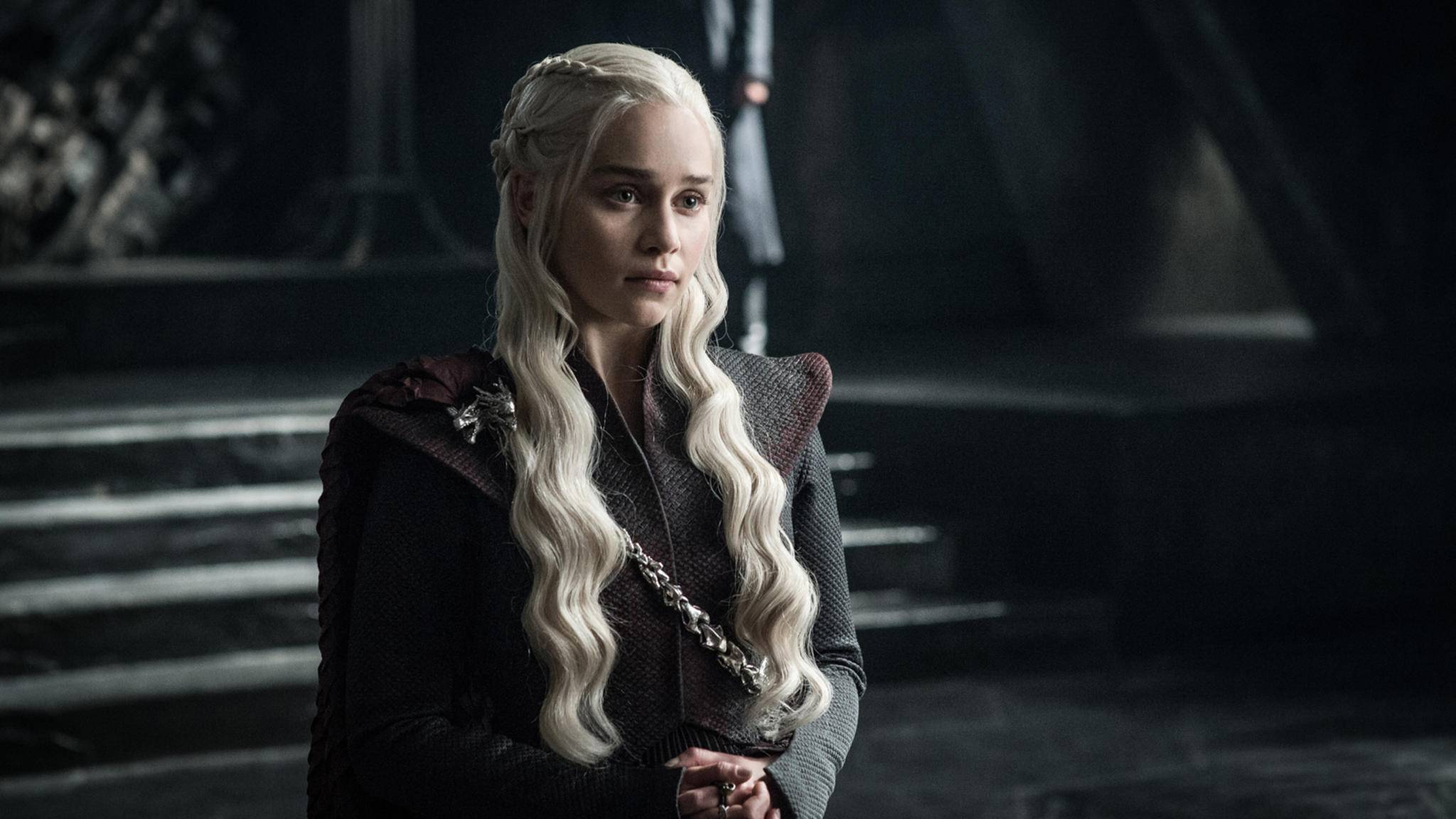 Daenerys Targaryen (Emilia Clarke) teilt den Thron nur ungern.
