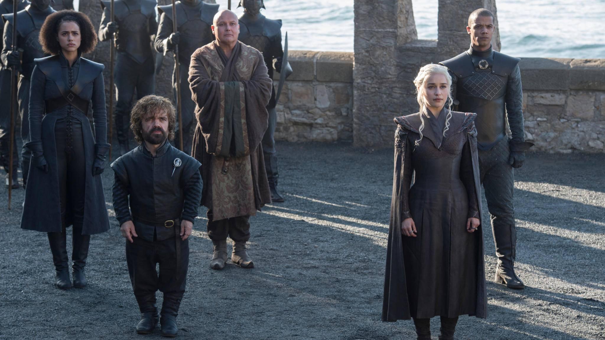 Willkommen auf Drachenstein! In Episode 3 kommt Jon Snow bei Daenerys zu Besuch.