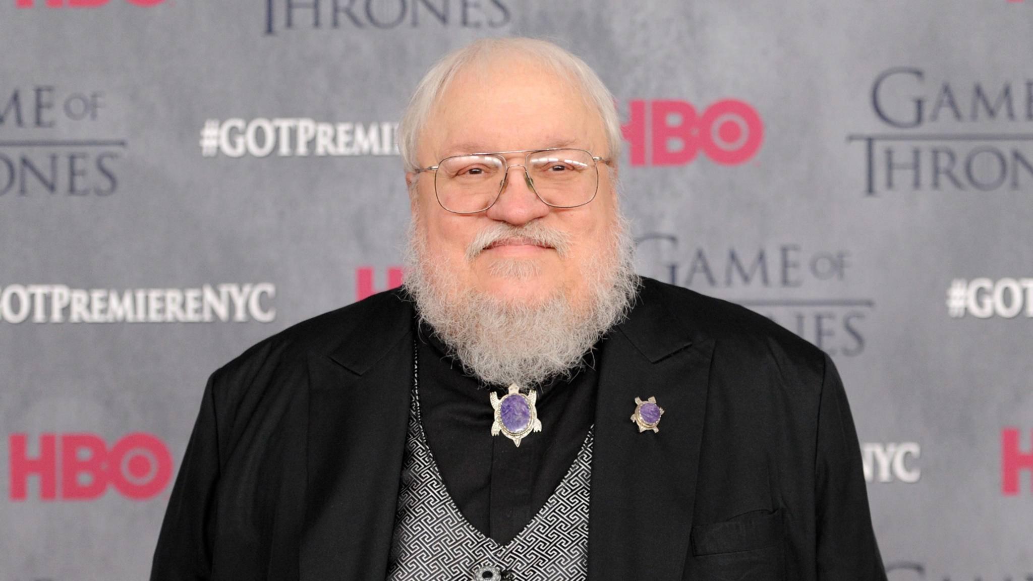 """Vielbeschäftigter Mann: """"Game of Thrones""""-Autor George R.R. Martin."""
