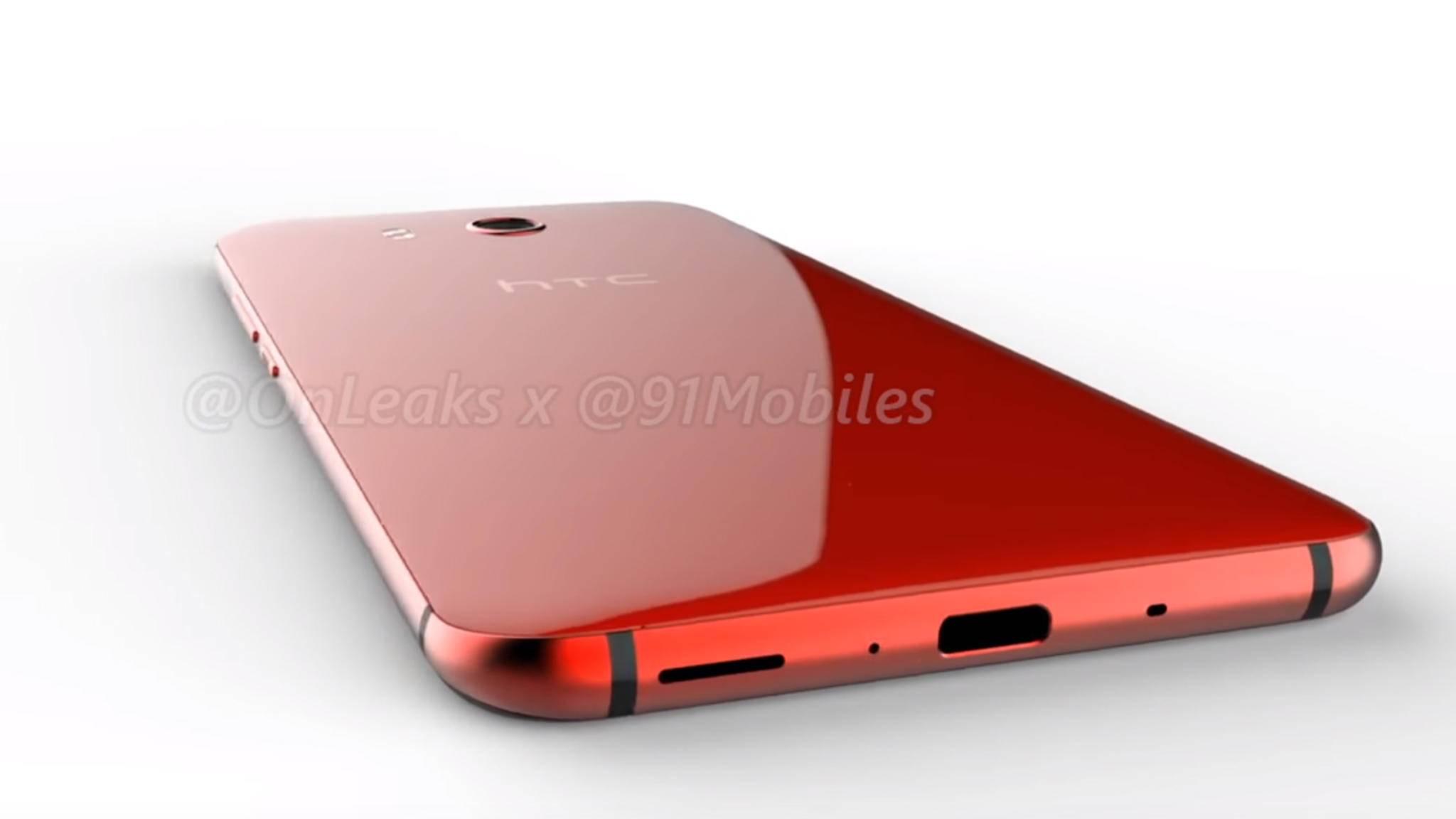Wird am 16. Mai auch gleich eine rote Version des HTC U 11 gezeigt?