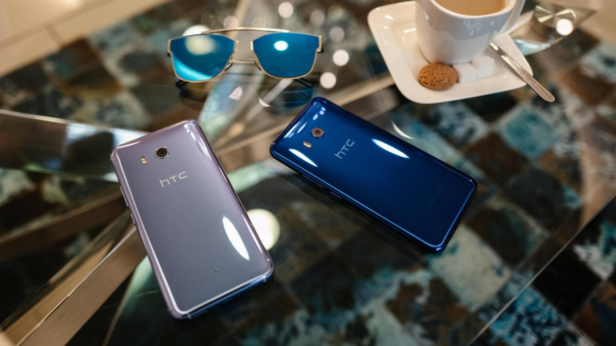 Das HTC U11 kommt erst im Juni in den Handel – und dürfte ziemlich sicher das Google-Update bekommen.