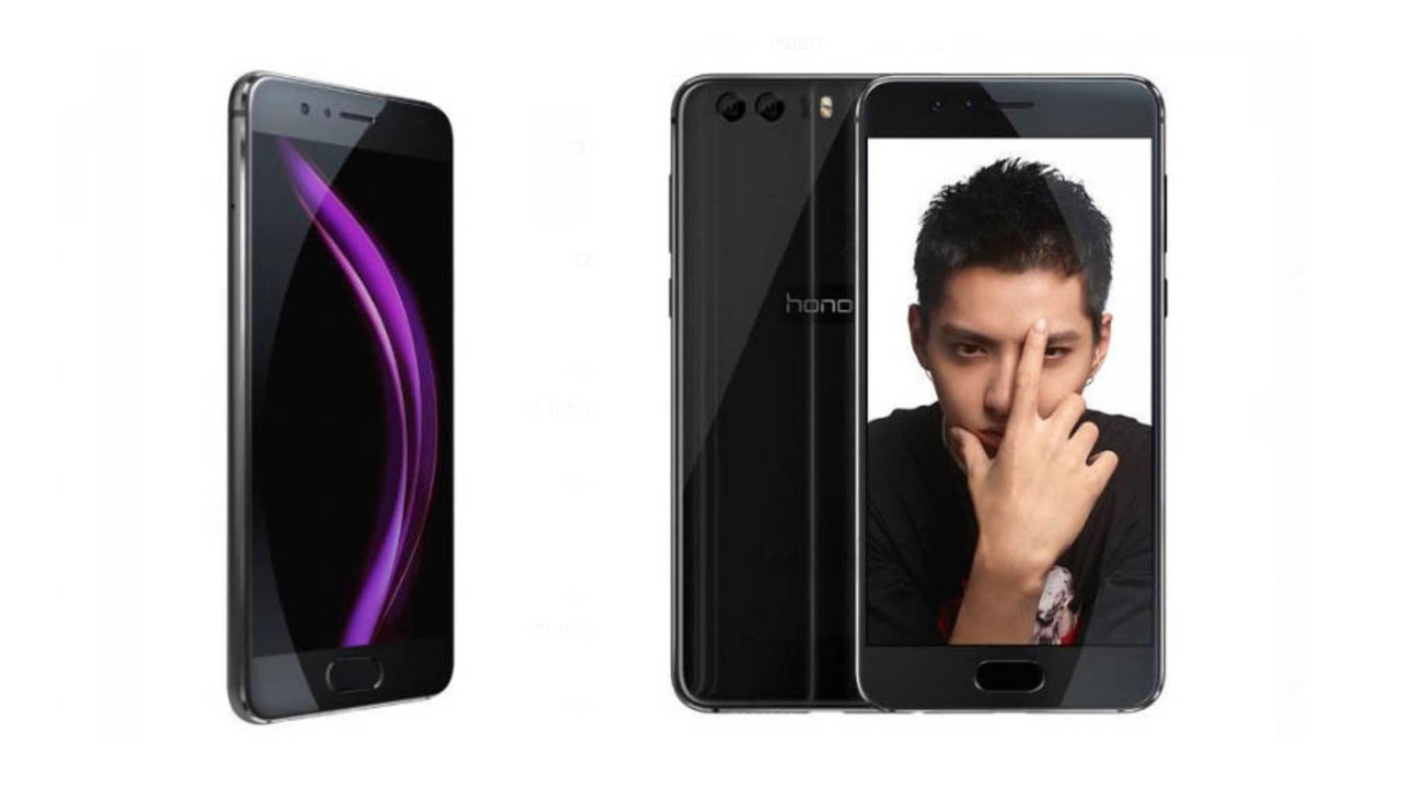 Im Gegensatz zum Honor 8 könnte der Fingerabdrucksensor beim Honor 9 auf der Vorderseite platziert sein.