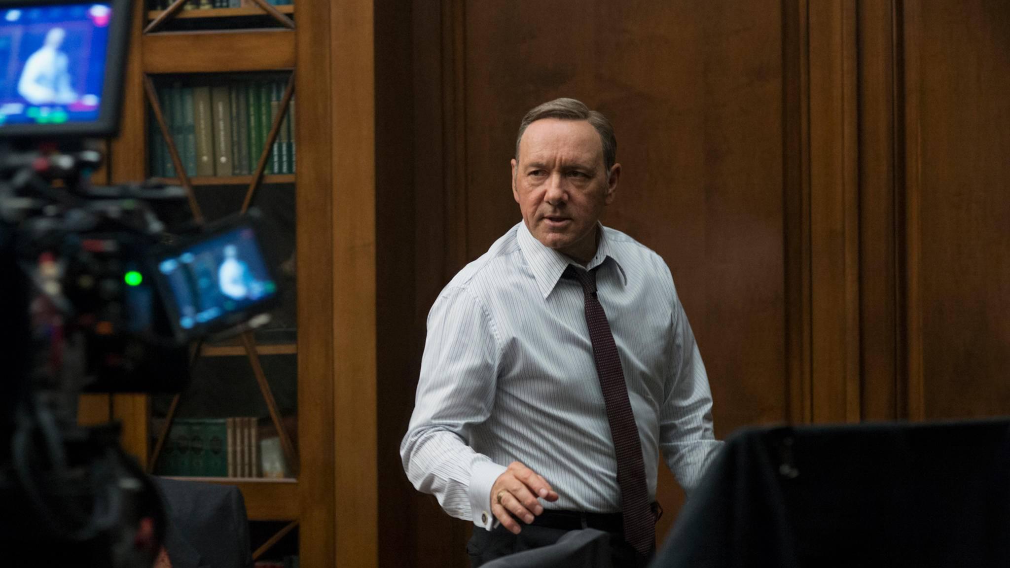 """Cut! Die Dreharbeiten zu Staffel 6 markieren das Ende von """"House of Cards""""."""