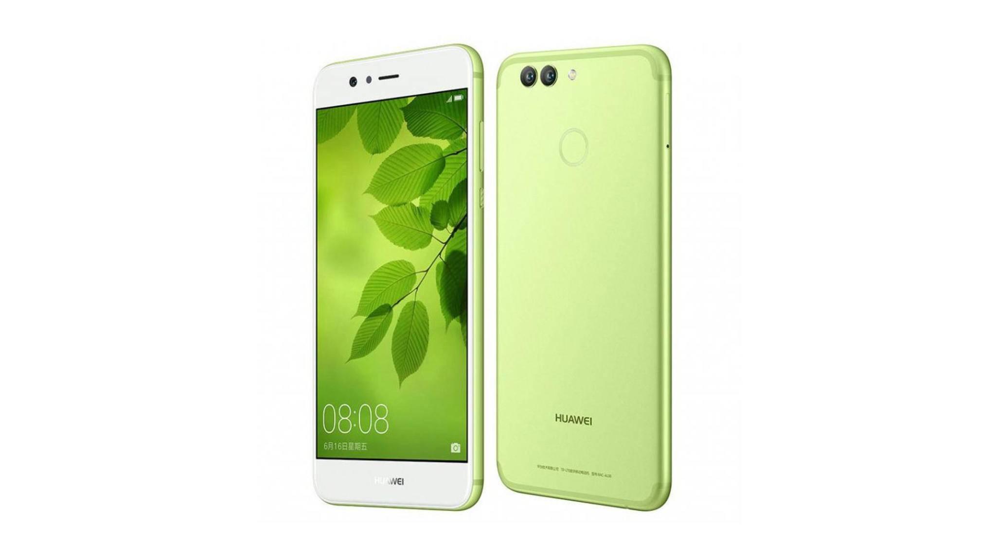 Das Huawei Nova 2 mit Dual-Kamera und Fingerabdrucksensor wurde offiziell vorgestellt.