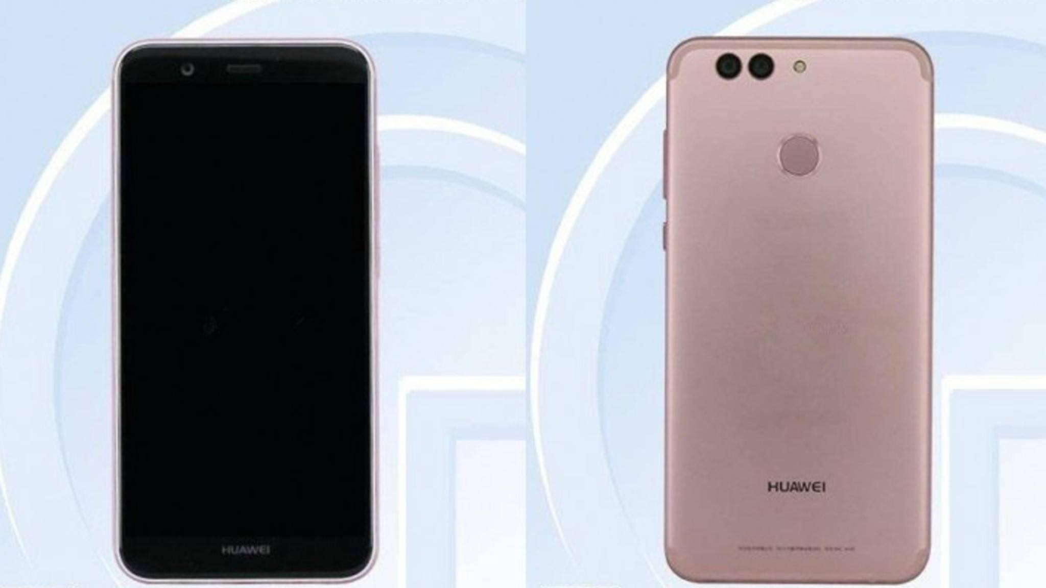 Bei der chinesischen Behörde TENAA sind erste Infos zum Huawei Nova 2 aufgetaucht.