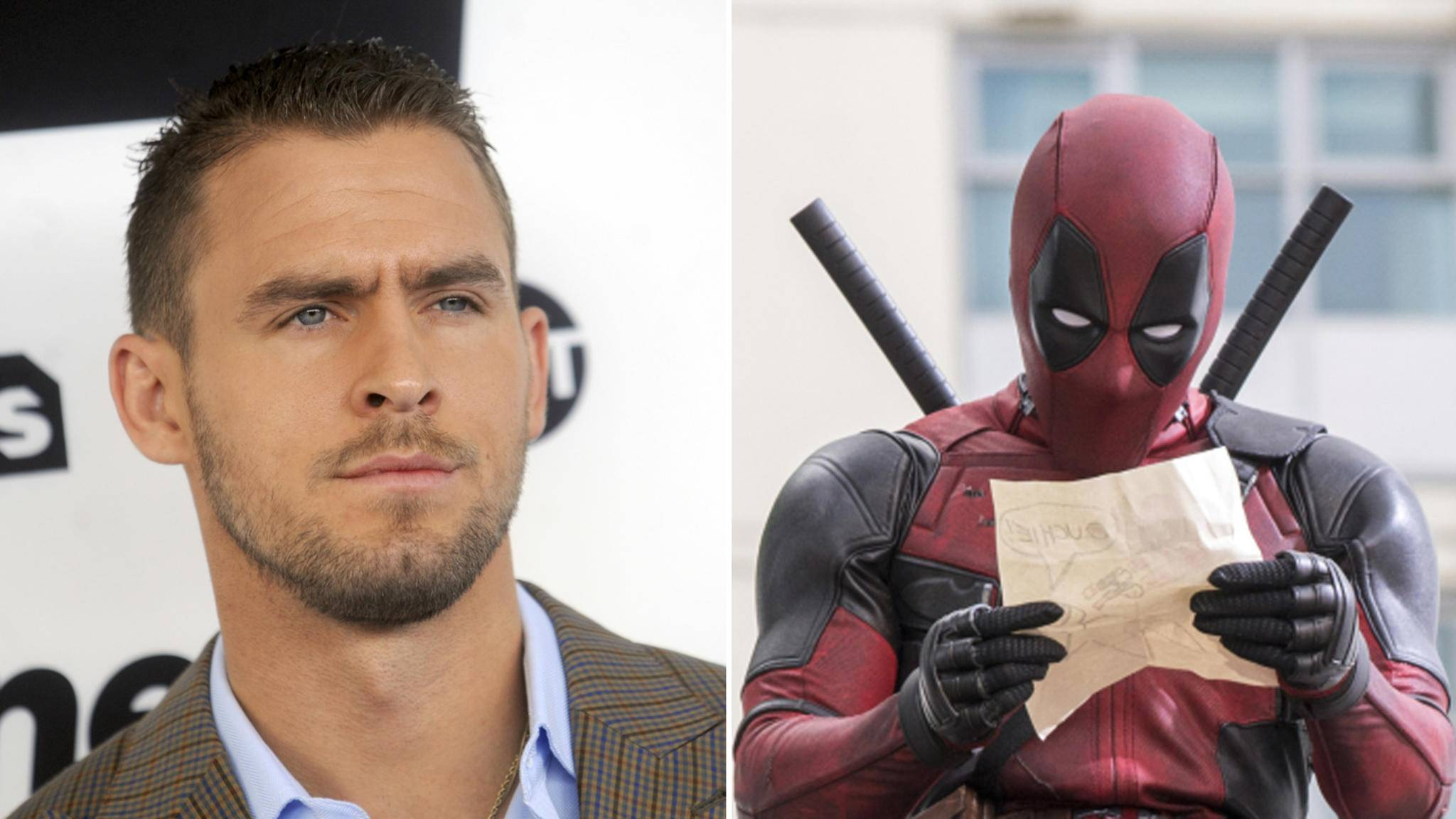 """The Strain""-Star Jack Kesy (links) mischt bei ""Deadpool 2"" mit."